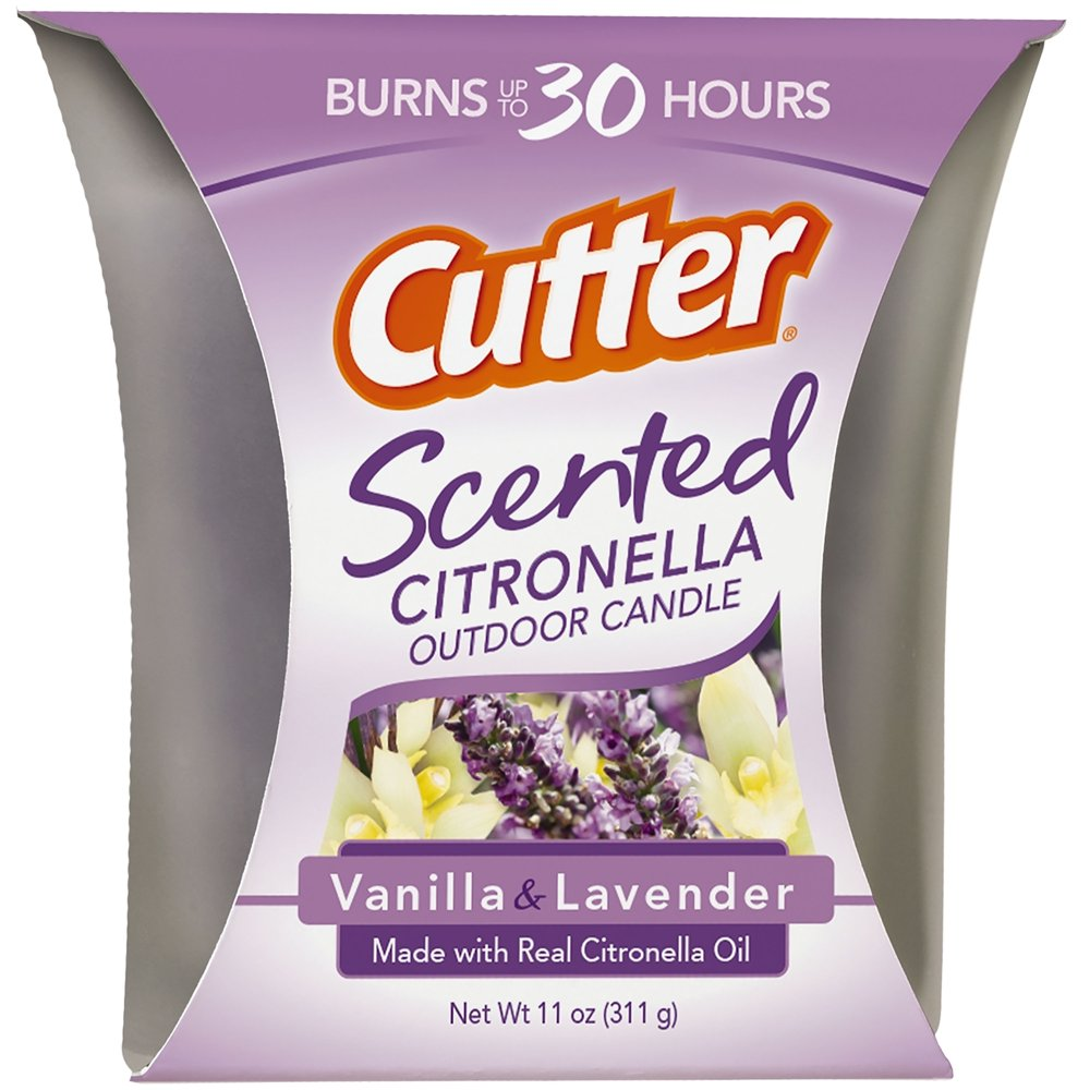 Best Scented Citronella Candle: Cutter Scented Citronella Candle
