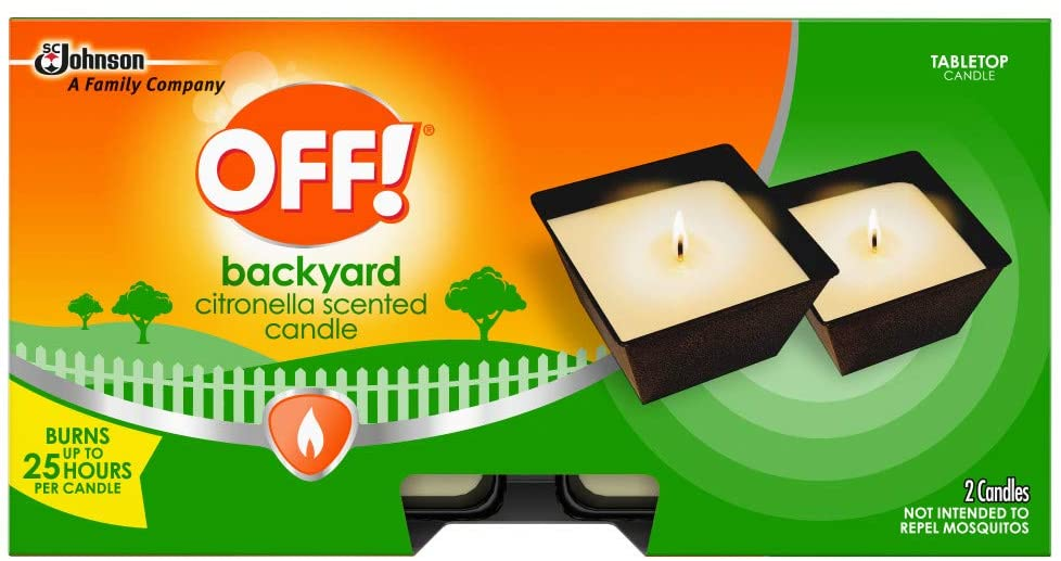 Best Citronella Candle for Mosquitos: OFF! Citronella Scented Candle