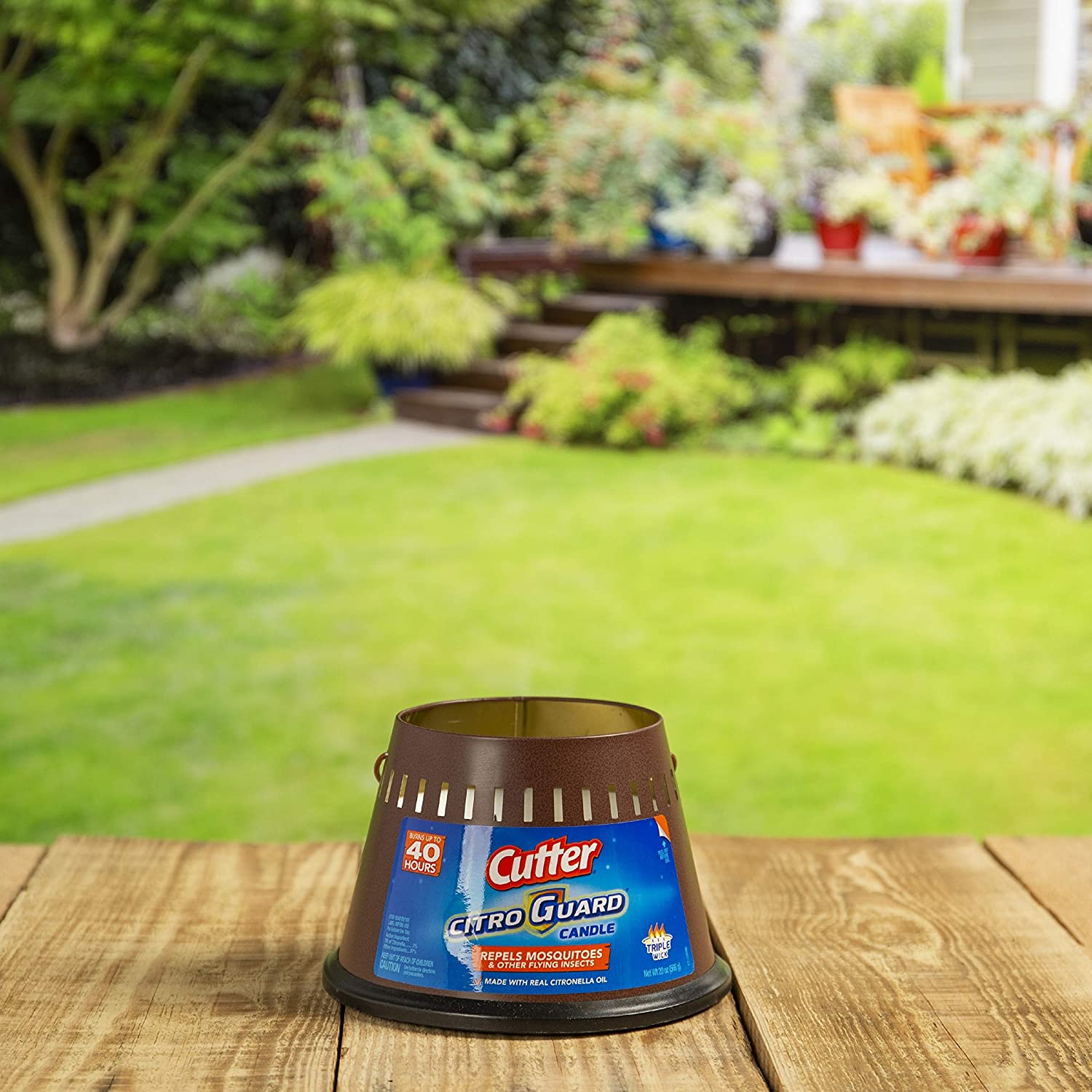Best Citronella Candle at Amazon: Cutter 95784 Citronella Candle