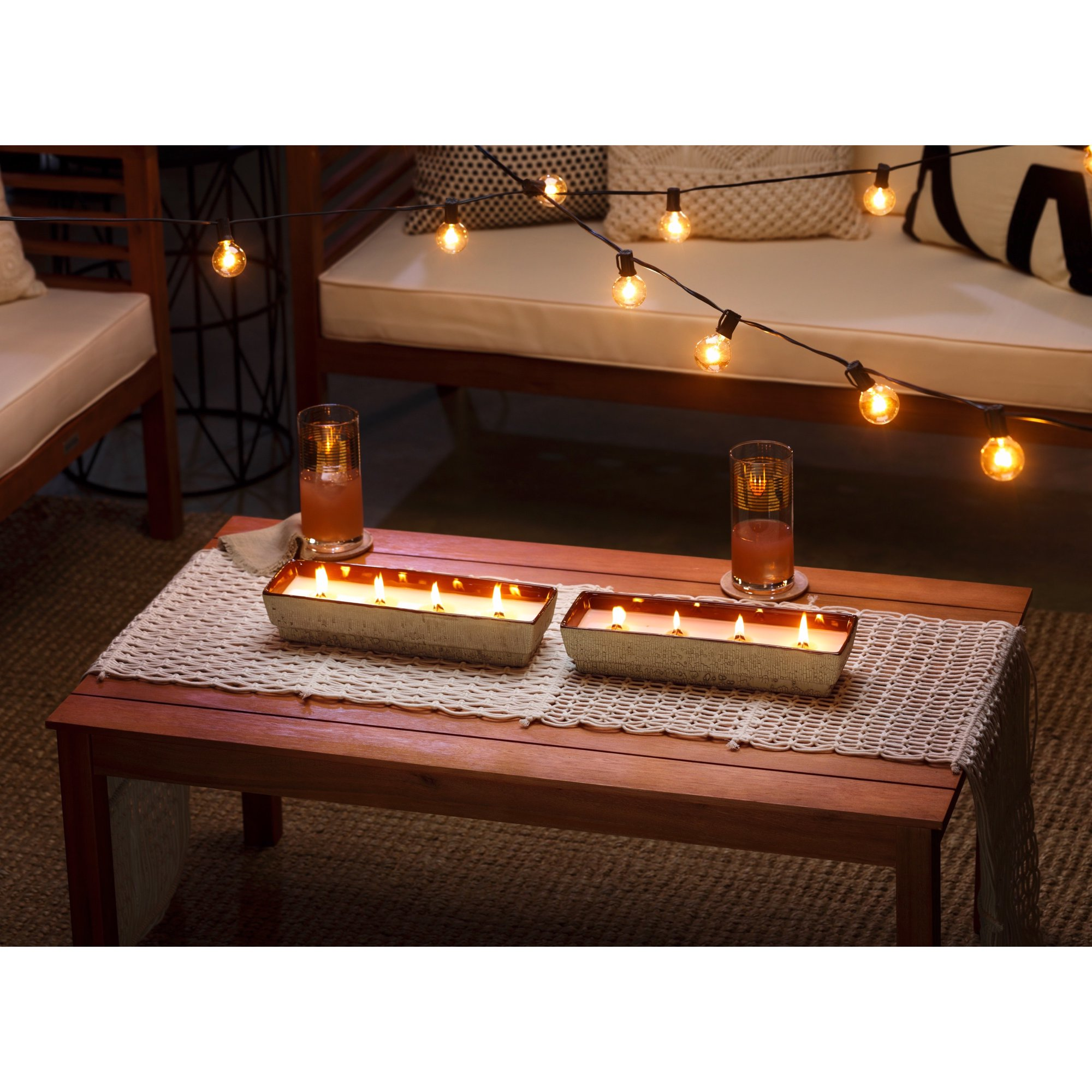 Best Citronella Candle at Walmart: WoodWick Cocowater Citronella Outdoor Candle