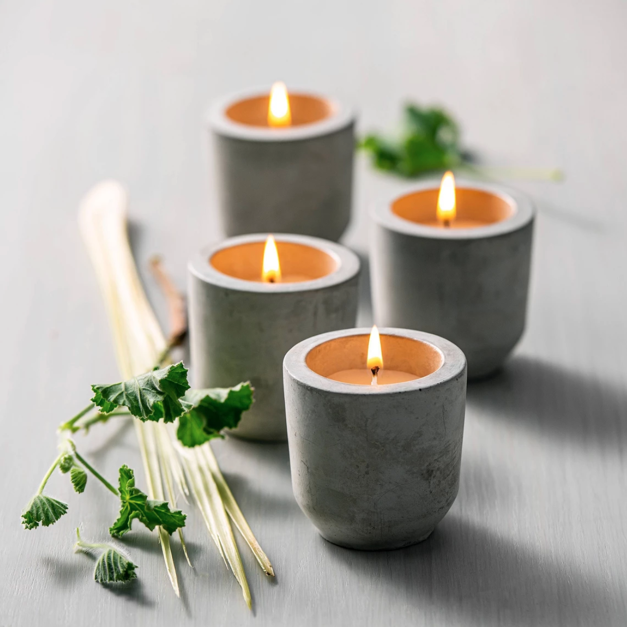 Best Citronella Candle at Target: Hearth & Hand with Magnolia 4pk Mini Citronella Cement Candles