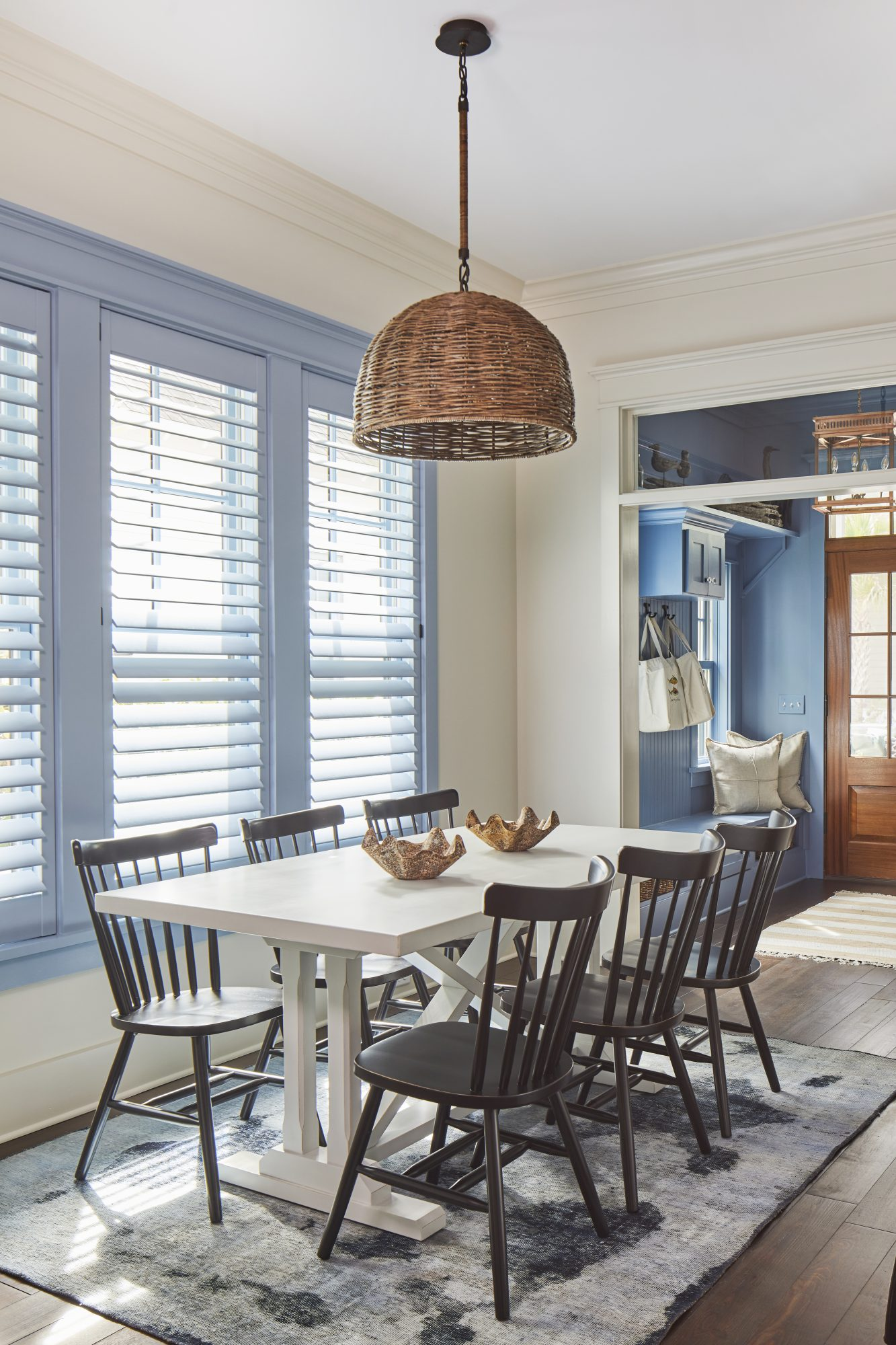 The Loudon House Plan casual dining