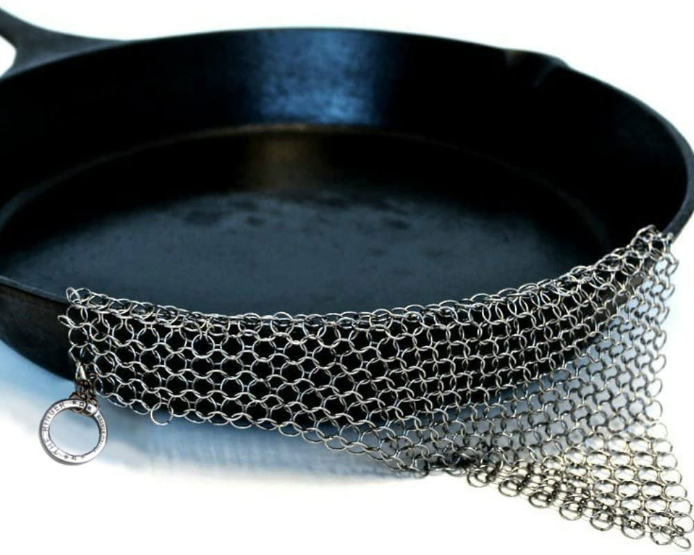 The Ringer Cast Iron Scrubber