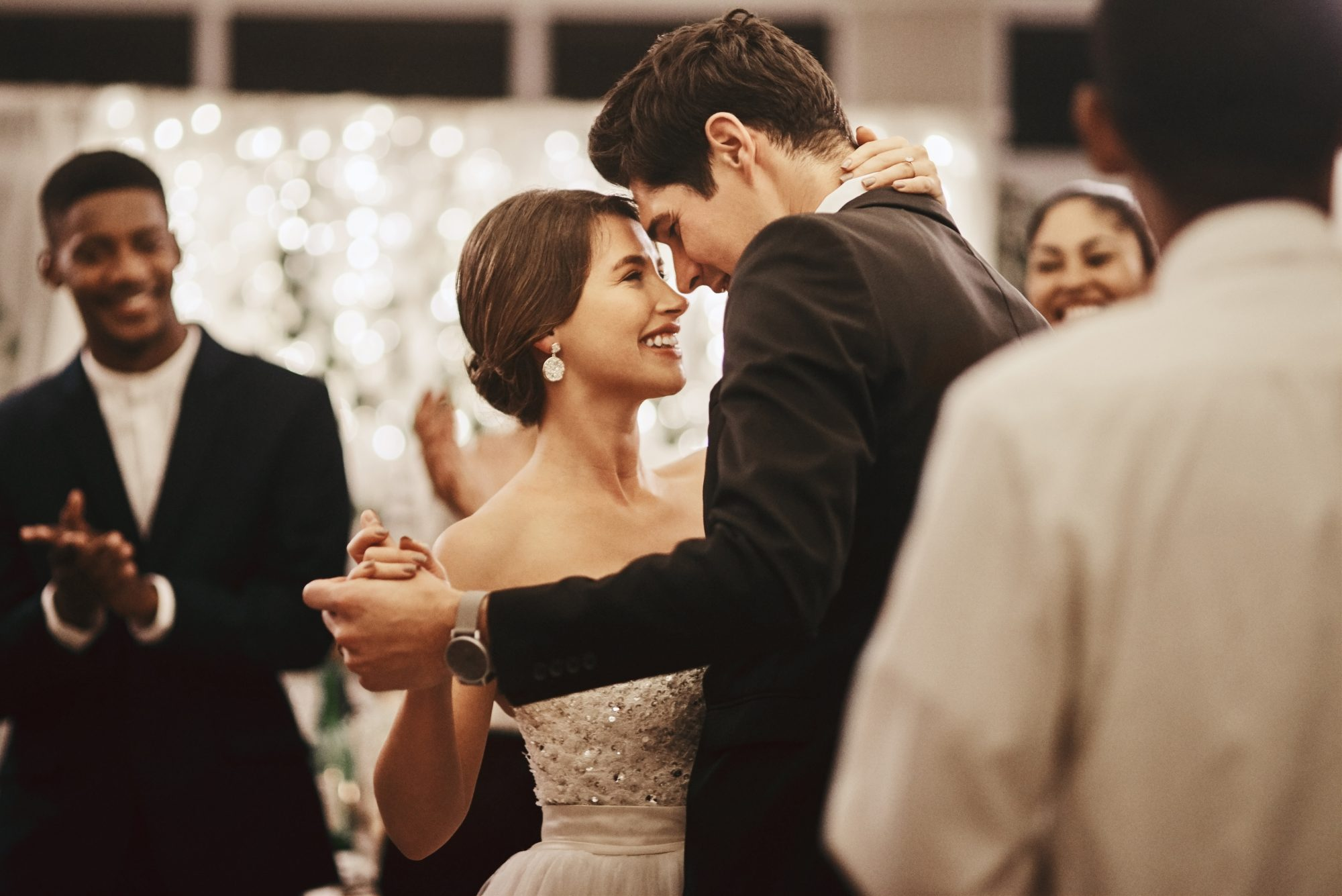 Wedding Bride and Groom First Dance