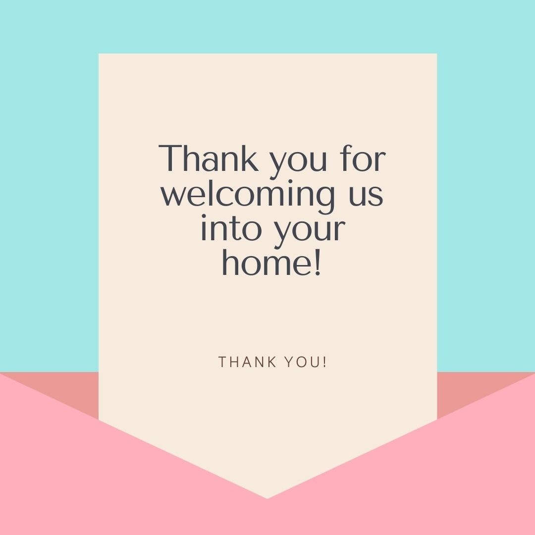 Hostess Thank You Note Wording