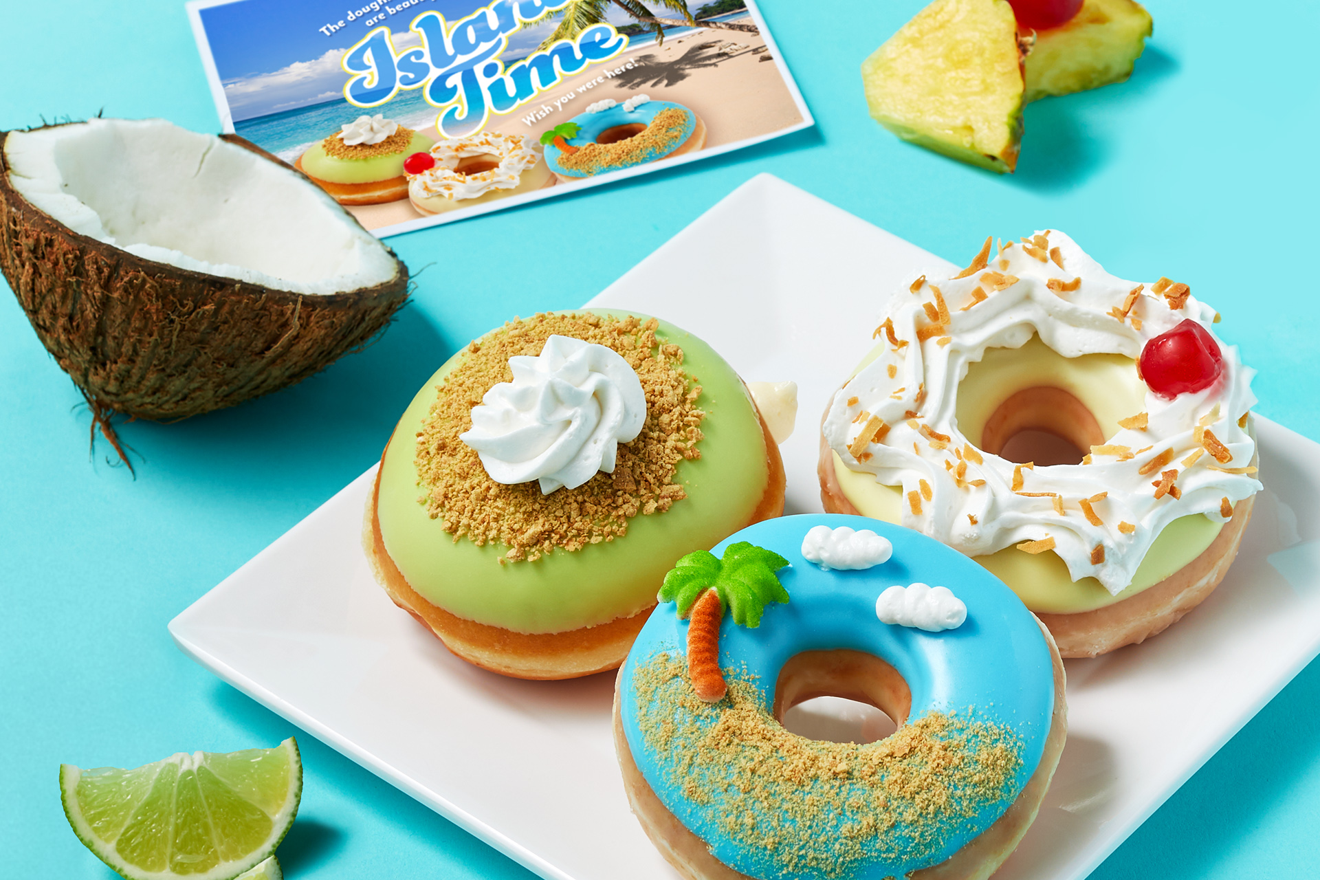 Island Time Collection Doughnuts