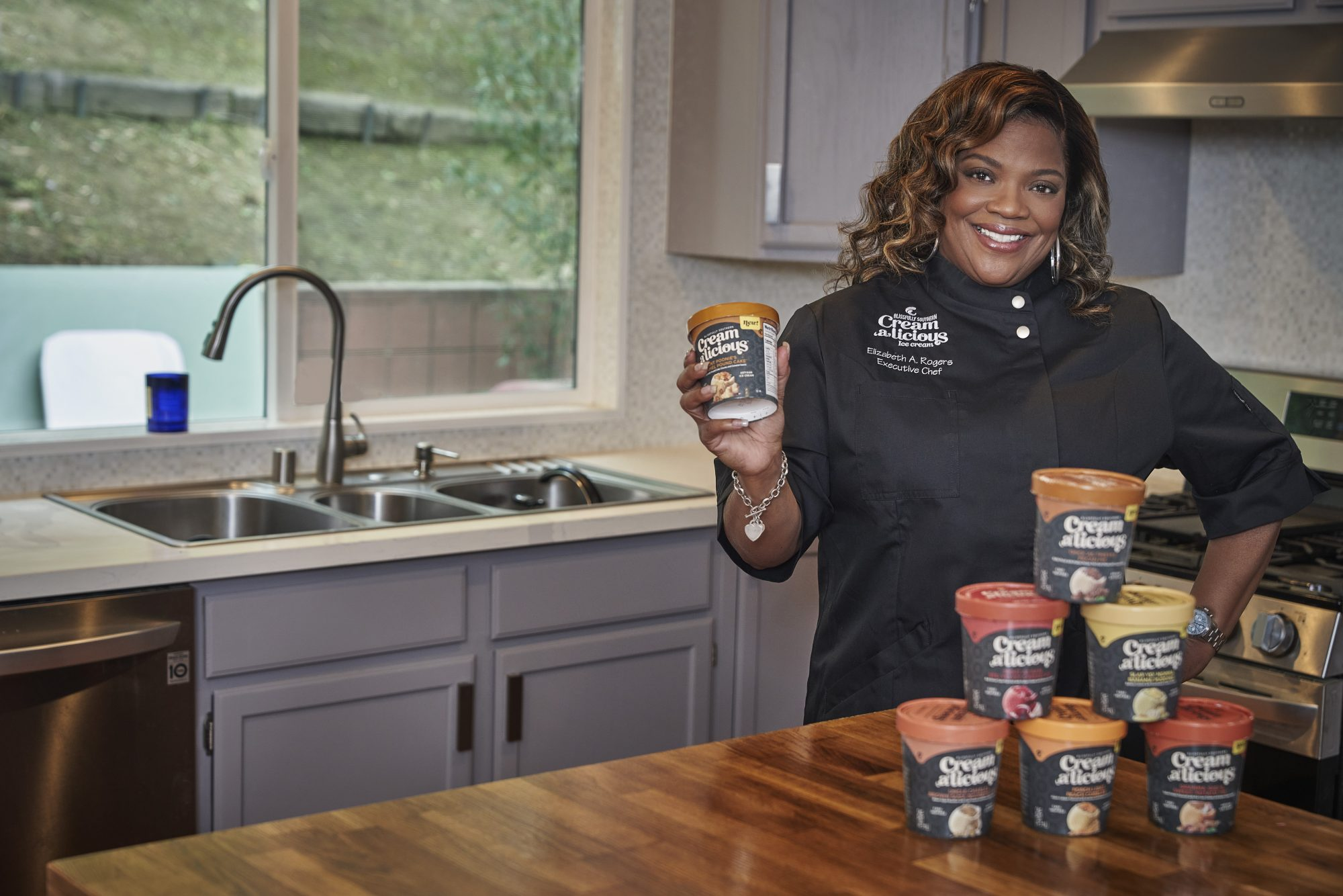 Executive Chef Liz Rogers Launches Creamalicious Ice Cream Brand Inspired by 'Four Generations of Family-Owned Recipes'