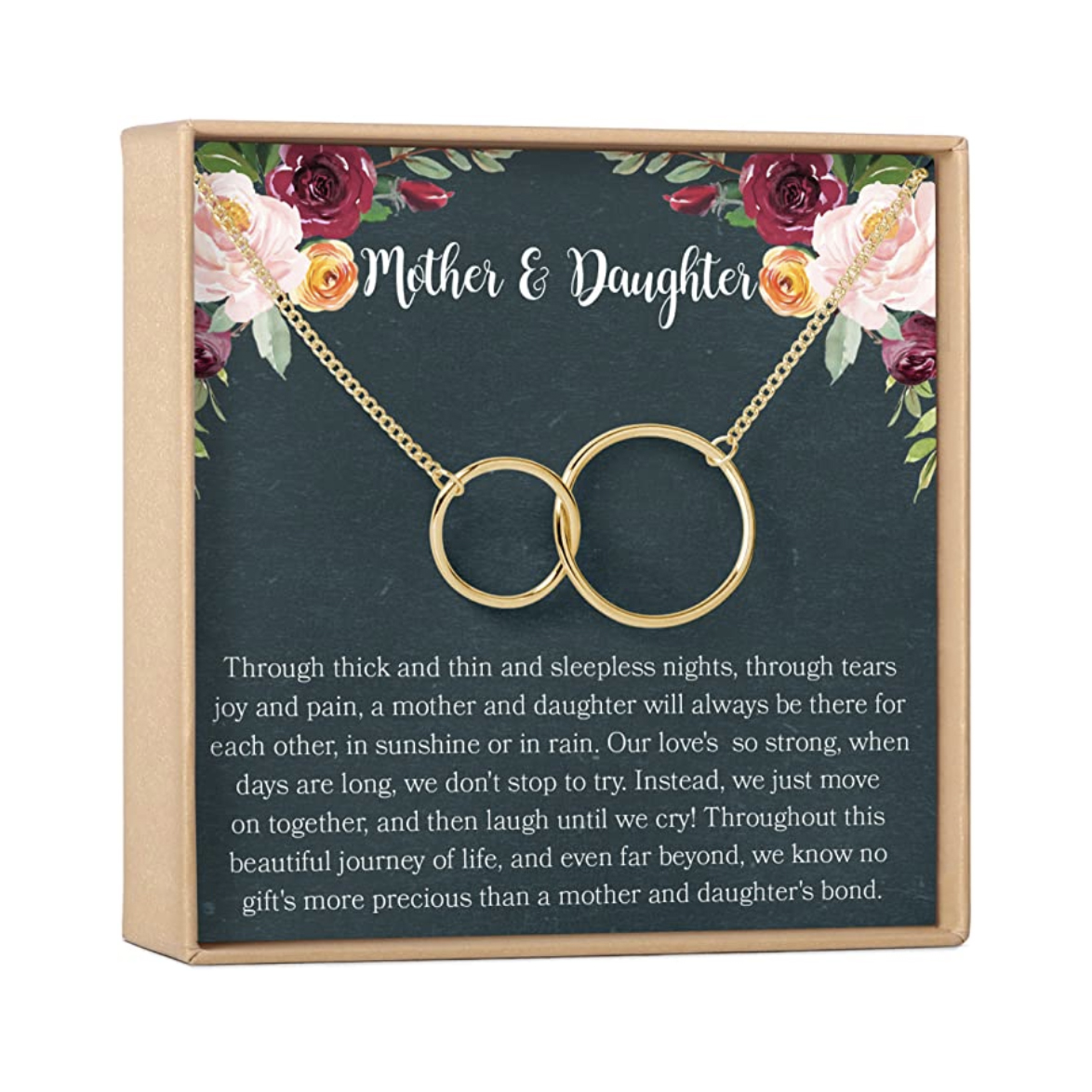 Mother & Daughter Necklace