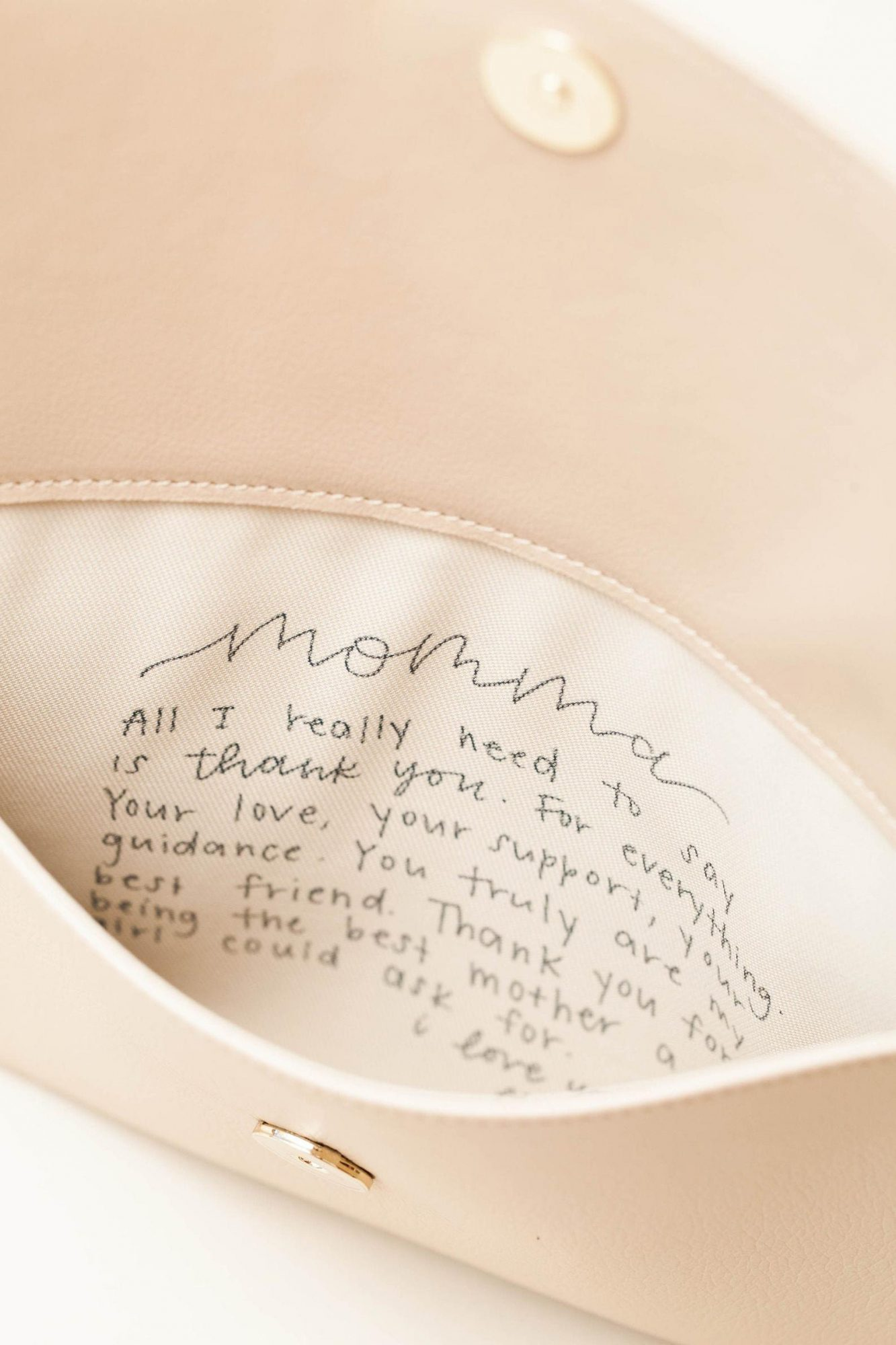 Mother of the Bride Imprinted Clutch