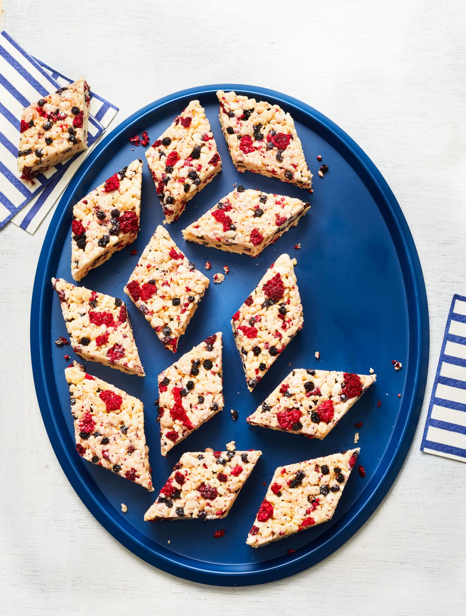 Crispy Cereal-and-Berry Bars