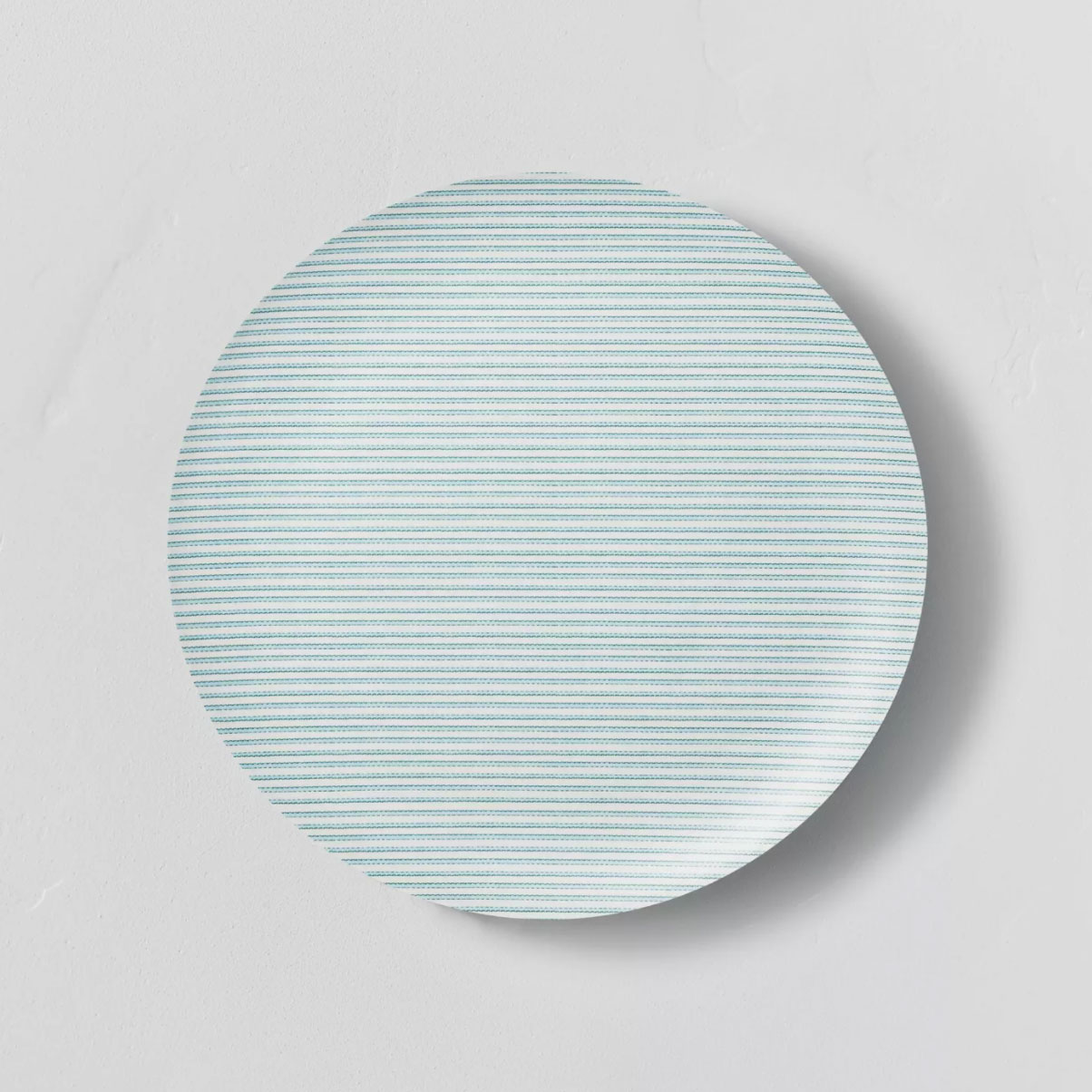 Hearth & Hand with Magnolia Bamboo Melamine Ticking Stripes Dinner Plate