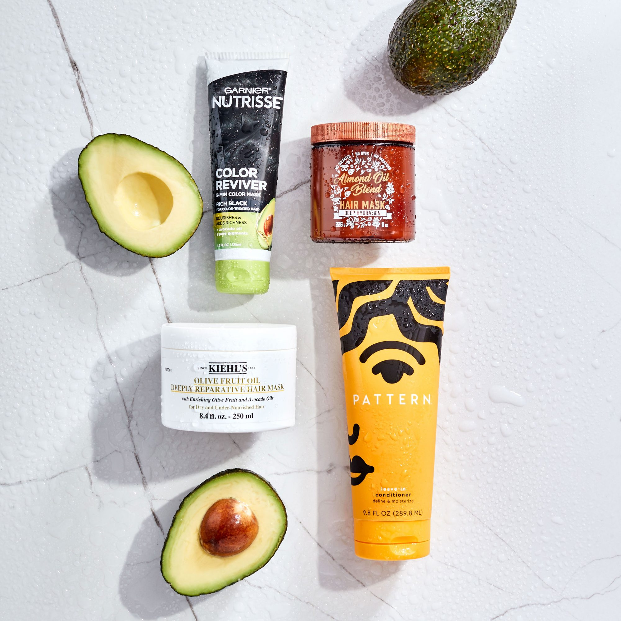 Avocado Based Hair Products