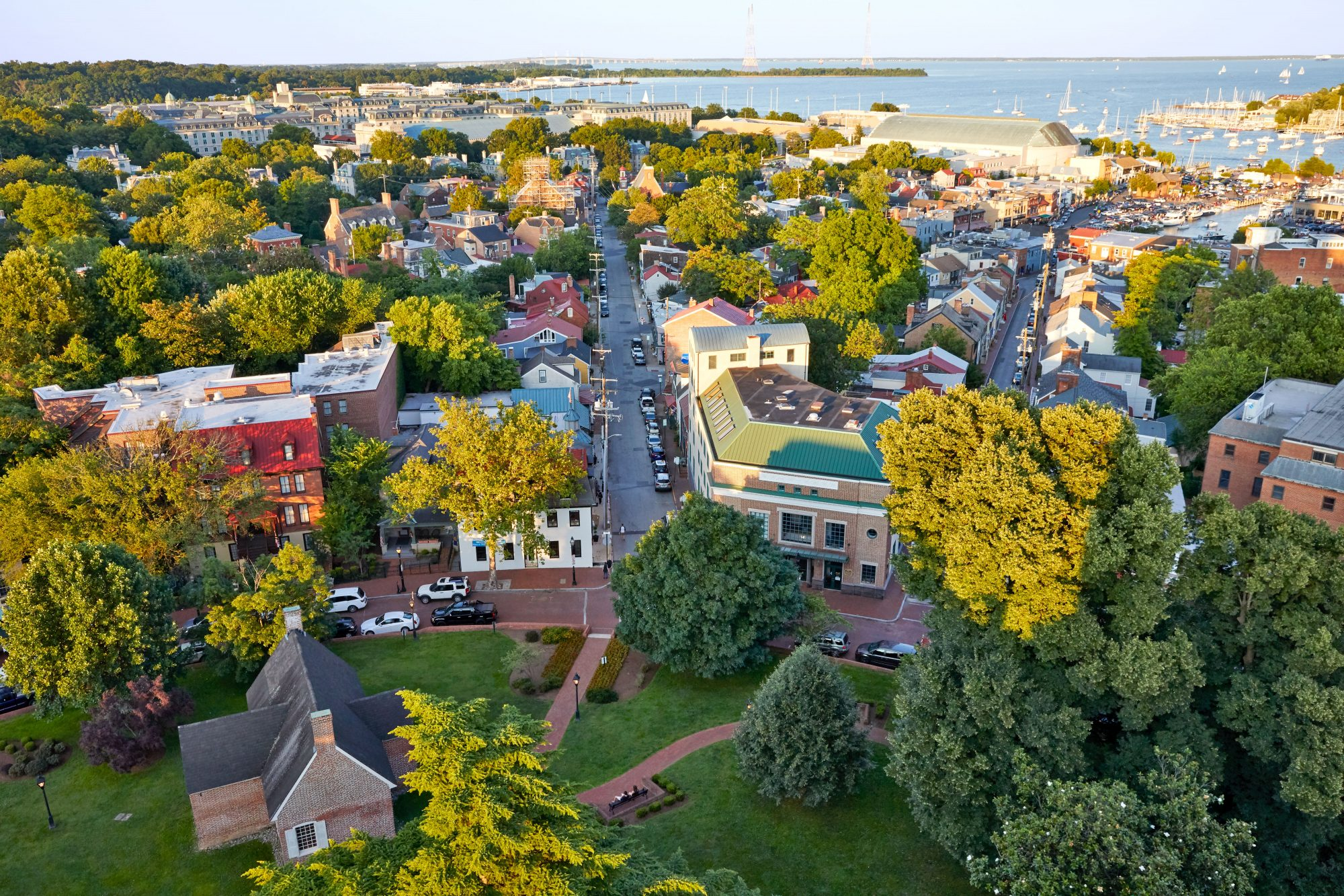 Overview of Annapolis, Maryland