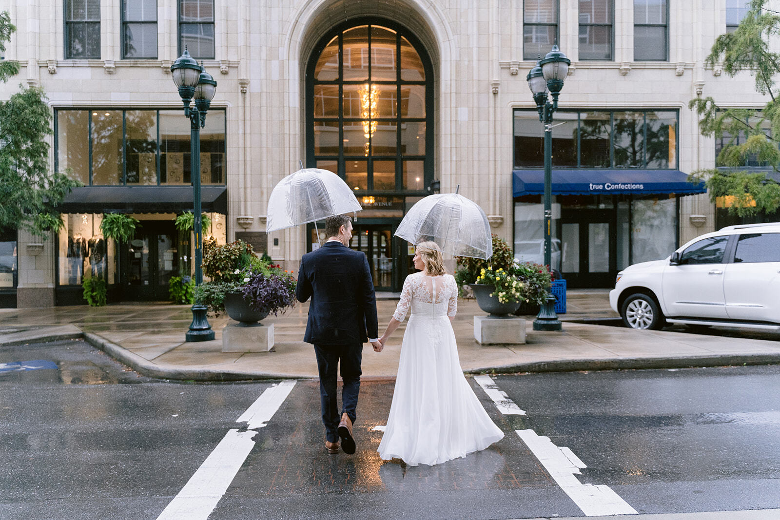 Weddings in Downtown Asheville North Carolina Have a Beautiful Urban Setting