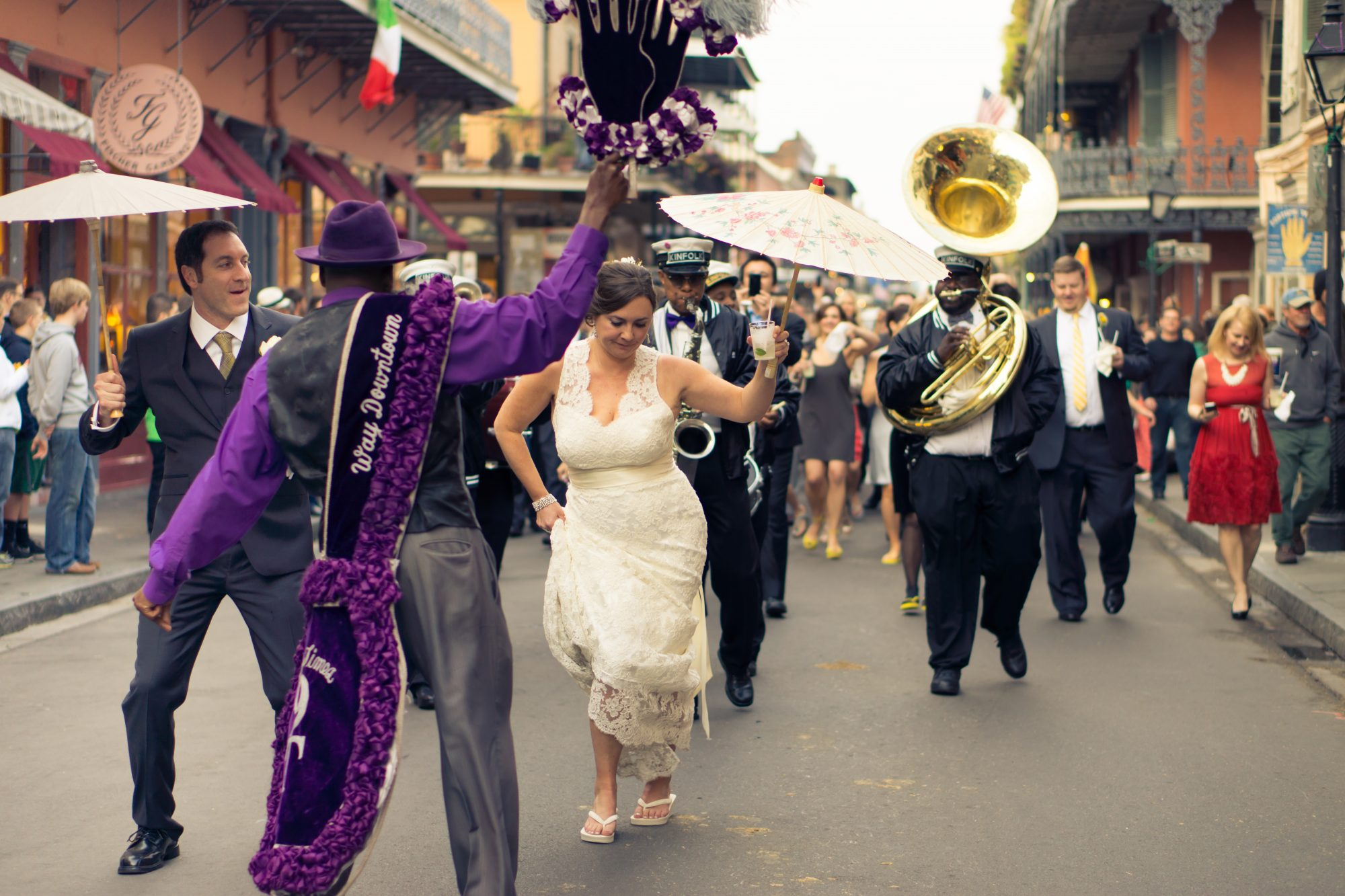 Wedding Second Line New Orleans