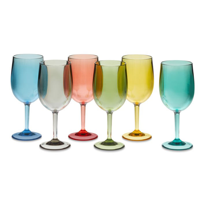 DuraClear Tritan Outdoor Red Wine Glasses