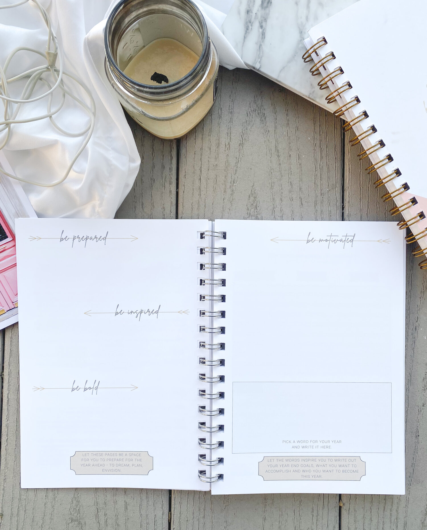 Kindred and Co Simple Planner