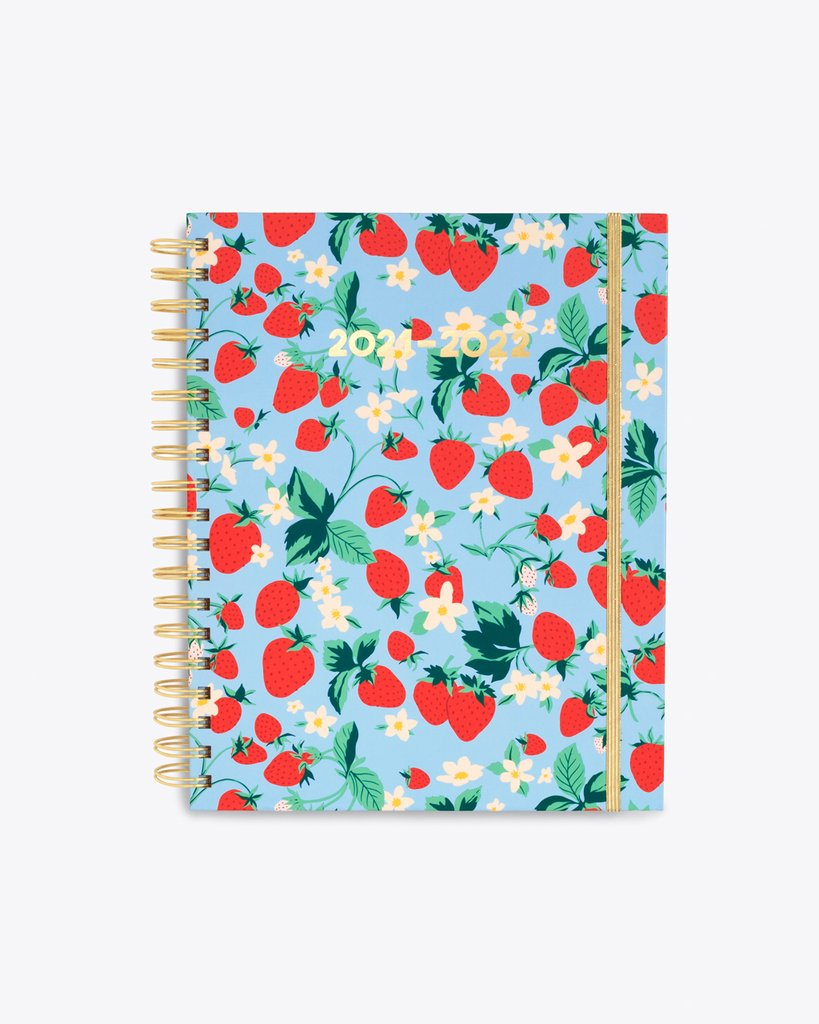 Bando 17 month large planner Strawberry Field