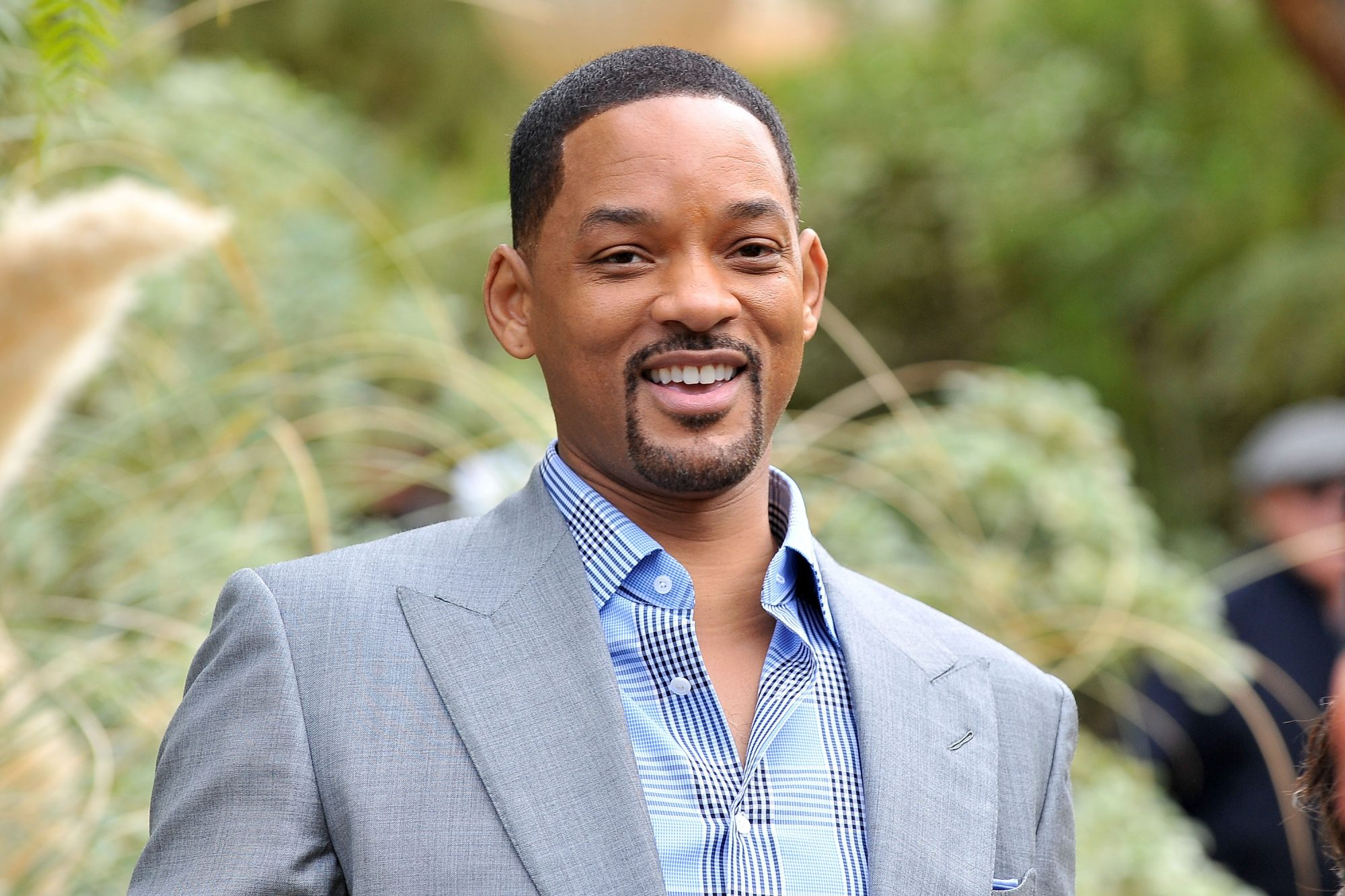 Will Smith Grey Suit