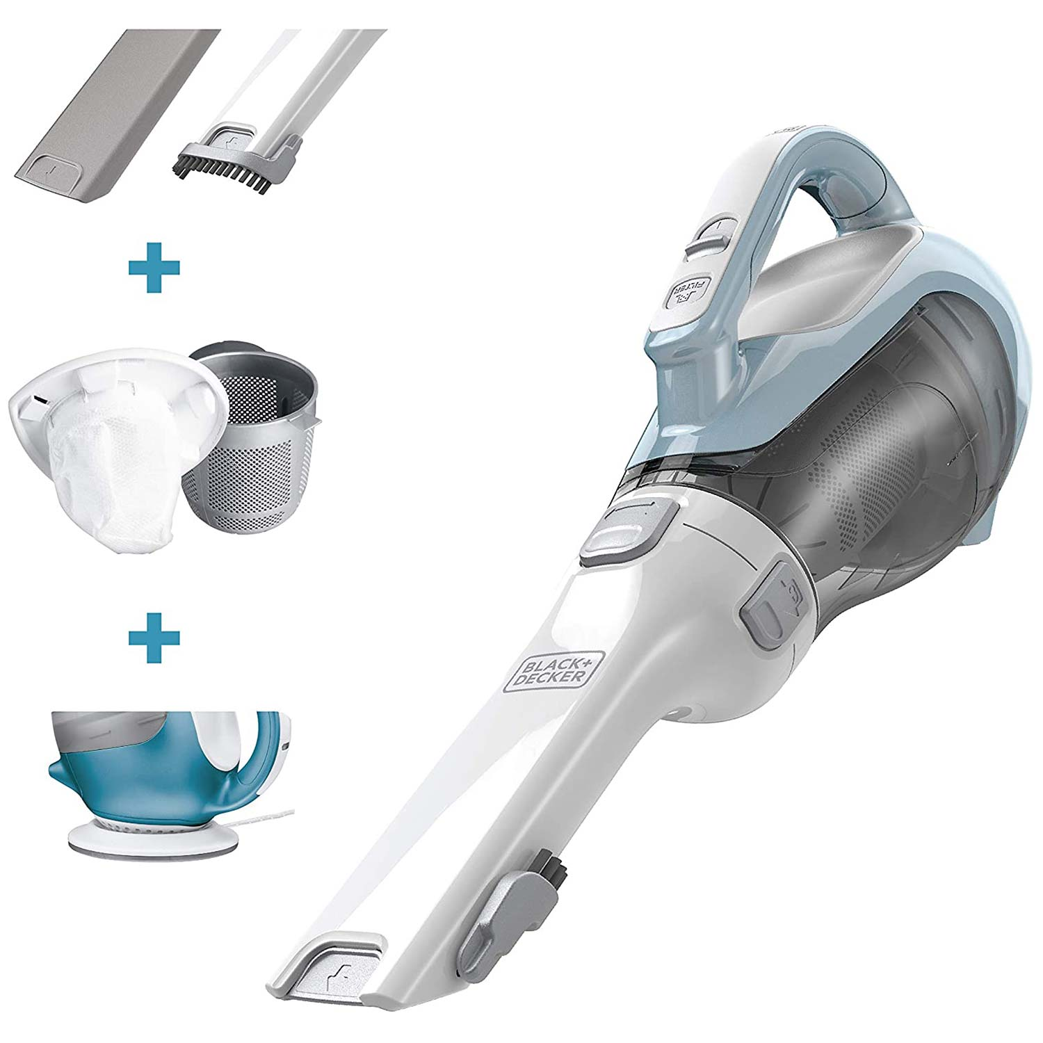 High Power, Handheld Vacuums with Attachments