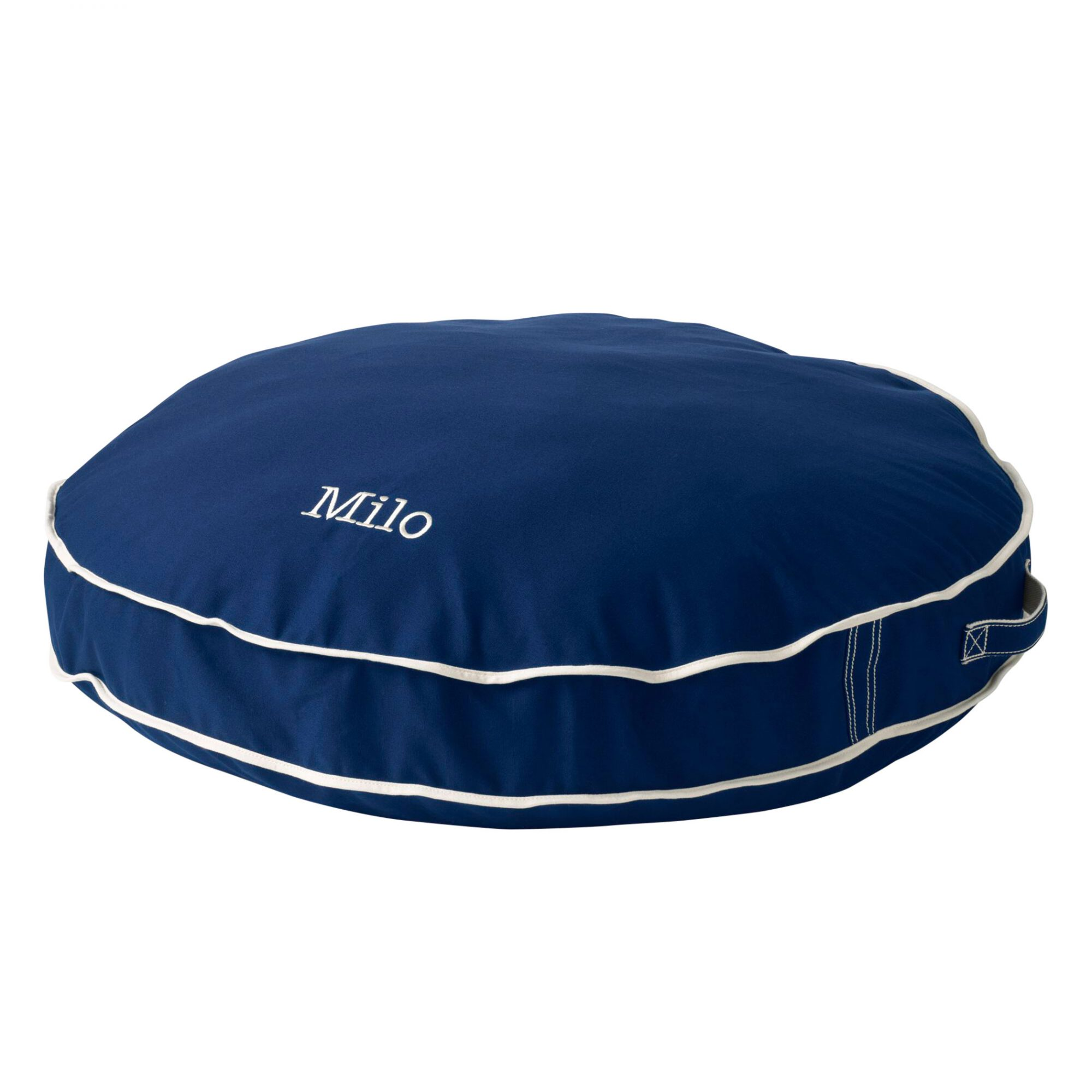 Lands End Round Canvas Dog Bed Cover