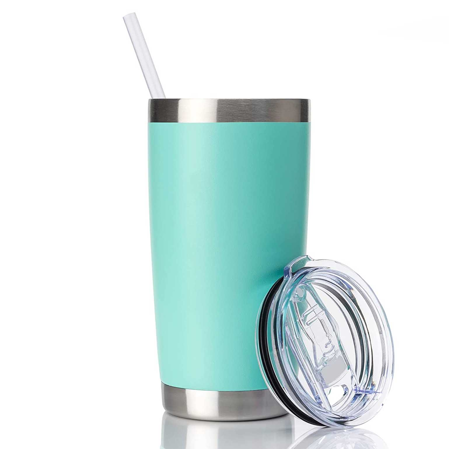 CIVAGO 20oz Tumbler with Lid and Straw