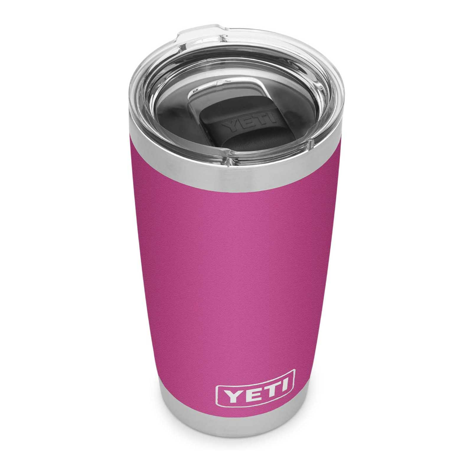 Best Insulted Tumbler for Coffee: YETI Rambler 20 oz Tumbler, Stainless Steel, Vacuum Insulated with MagSlider Lid