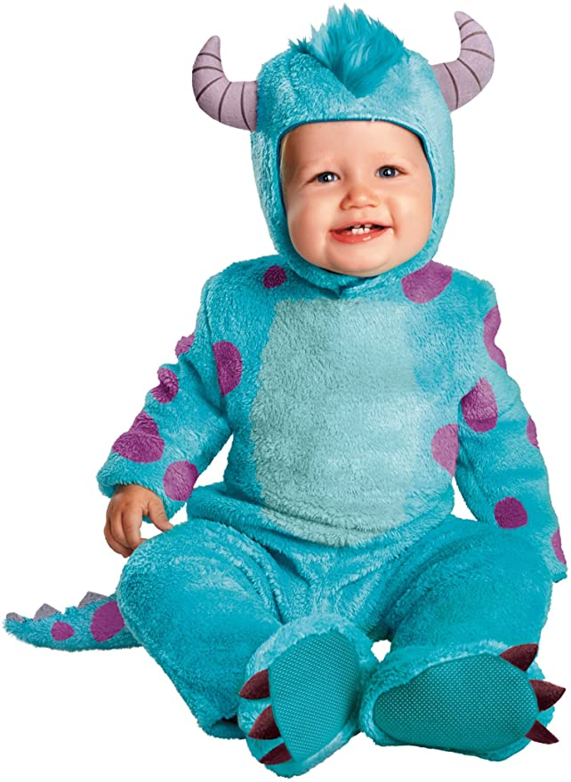 sulley monsters inc baby halloween costume