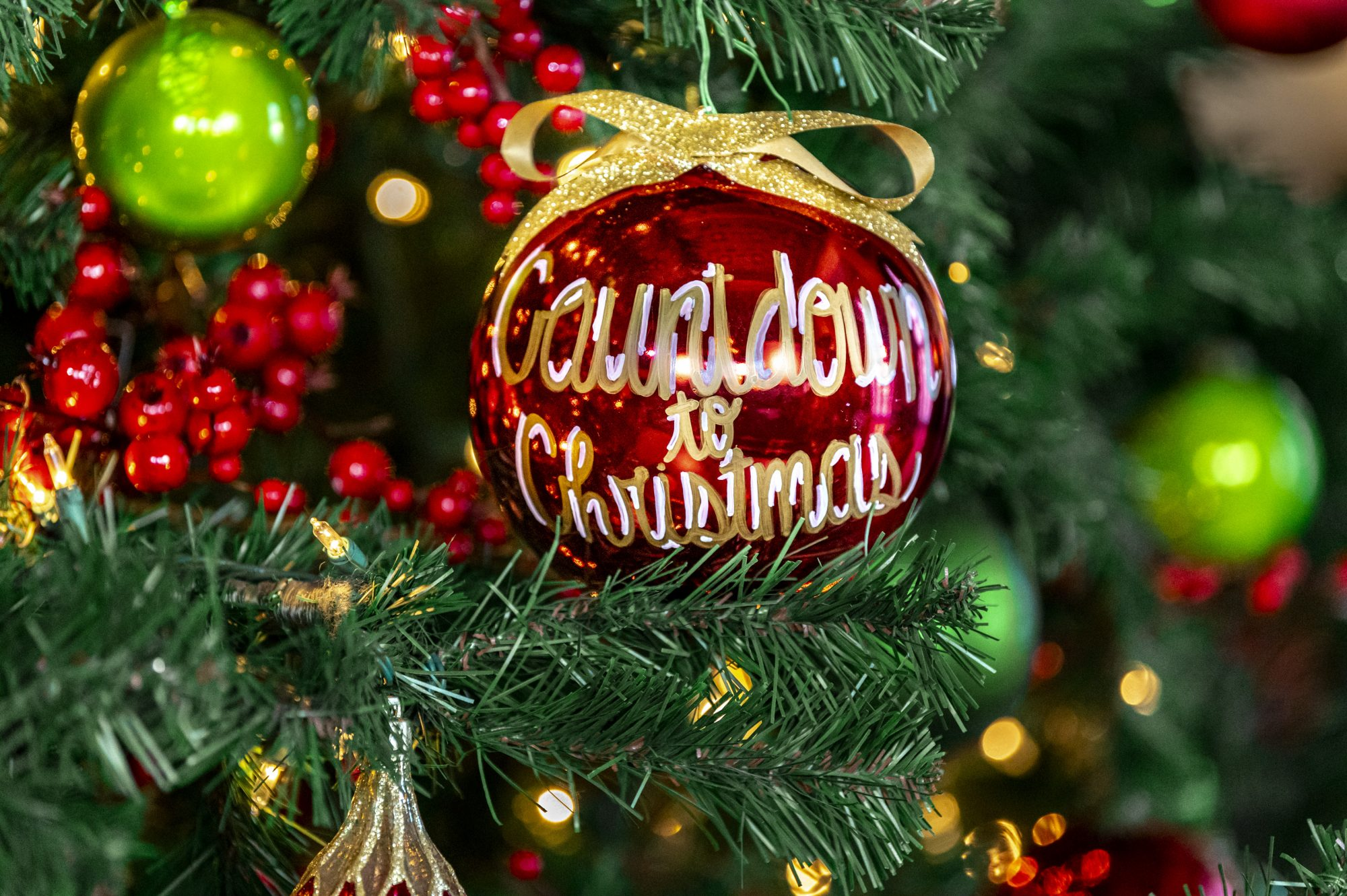 2020 Countdown to Christmas Preview Special Ornament On Tree
