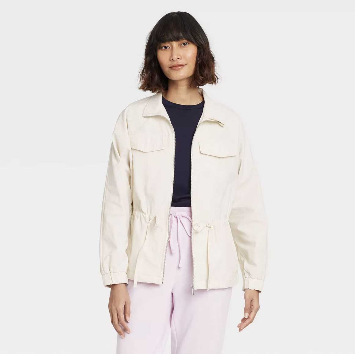 A New Day White Anorak