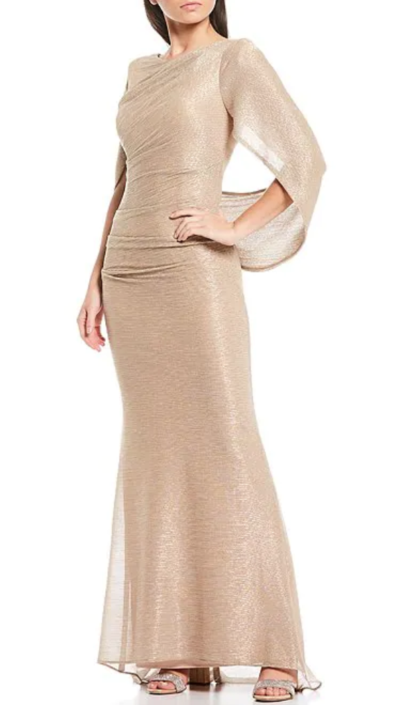 Betsy & Adam Cape Gown