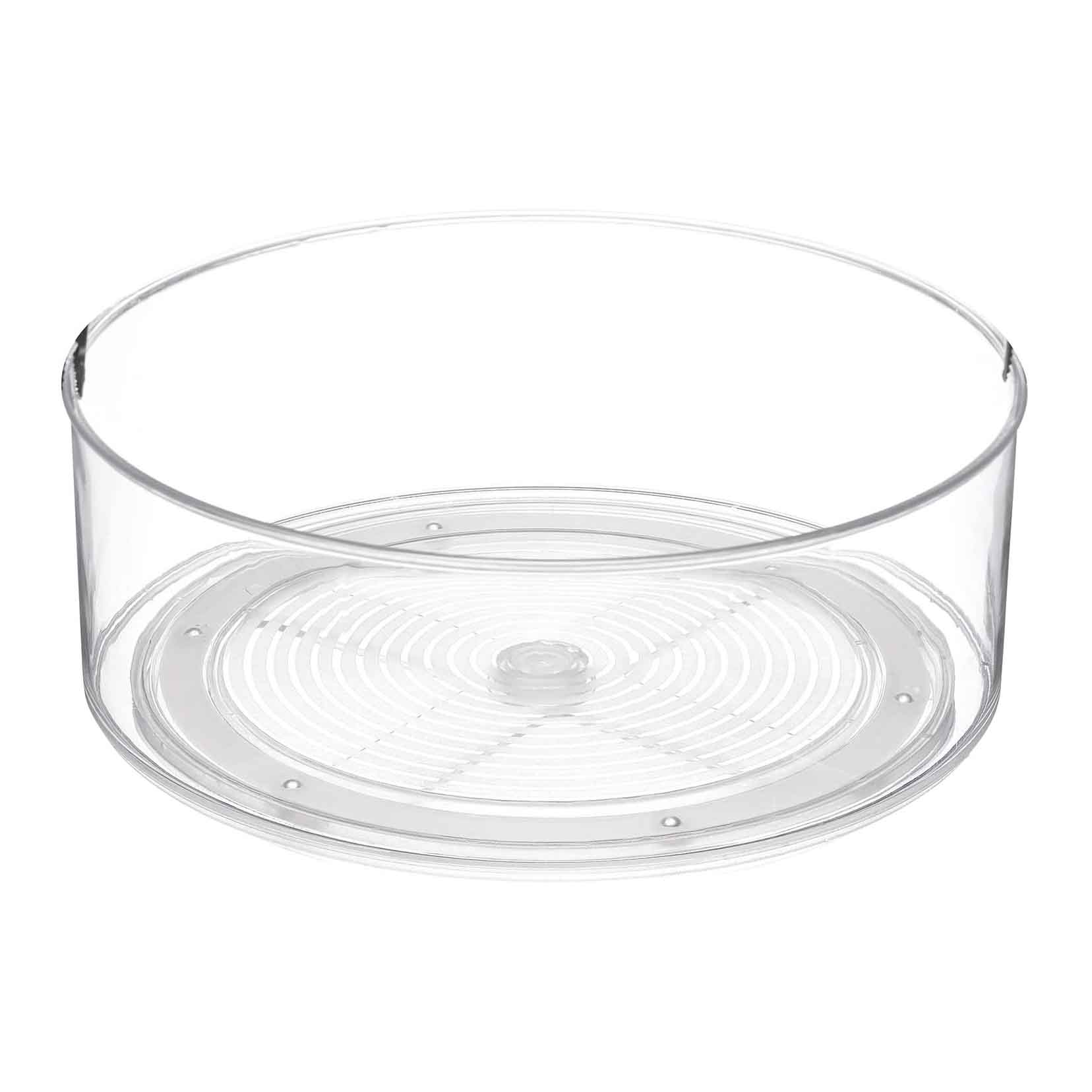 Home Intuition Round Plastic Lazy Susan Turntable