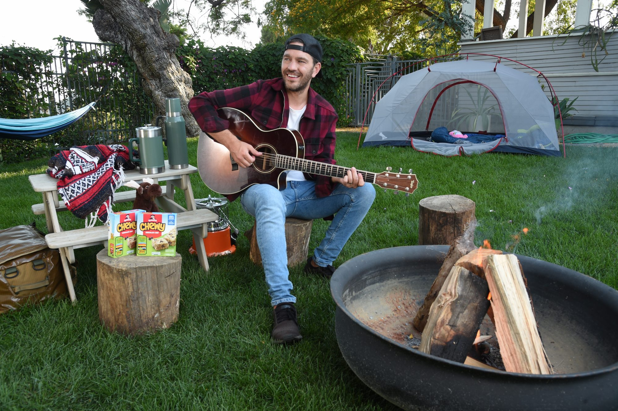 Andy Grammer for Quaker`s Camp Chewy