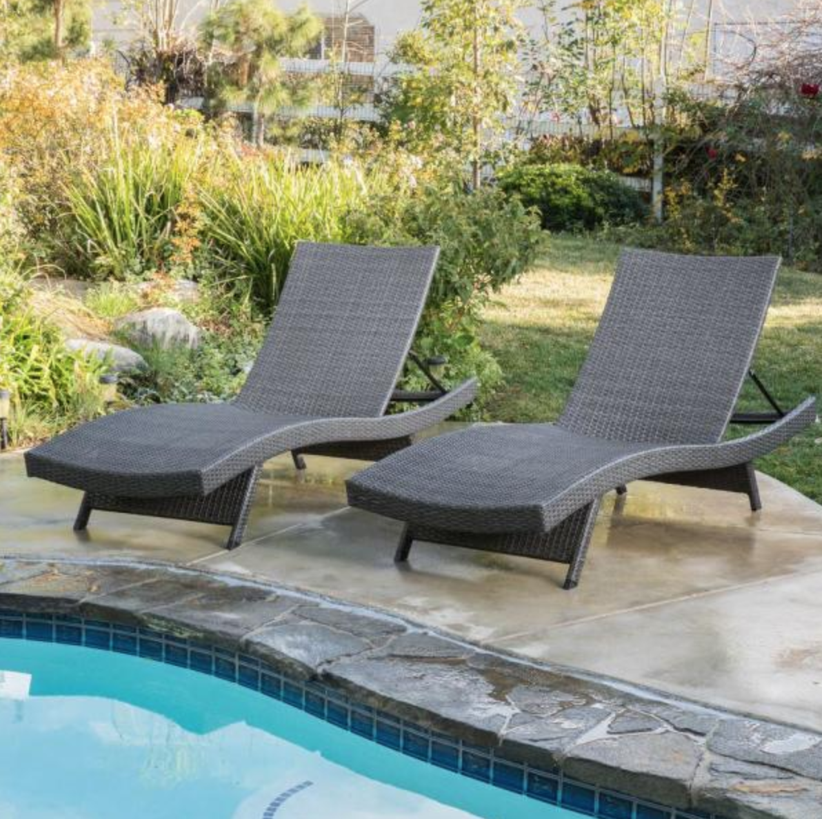 Home Depot Chaise Lounge Set
