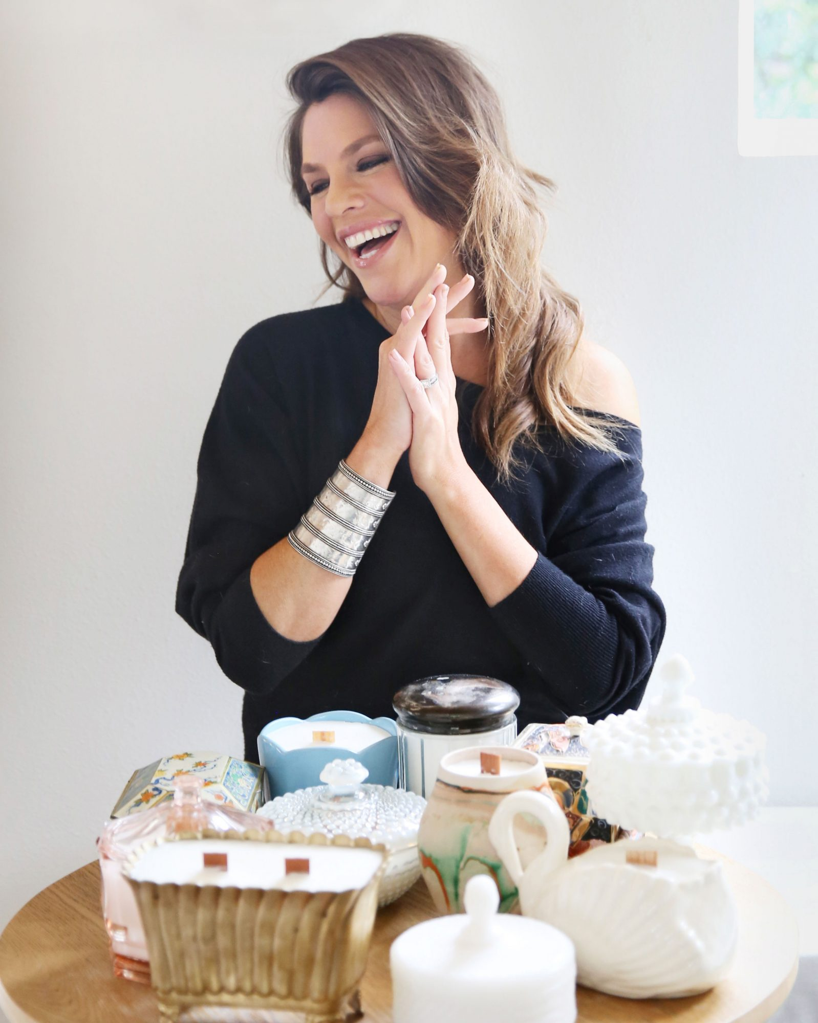 Jaclyn King of Old Flame Candle Co.