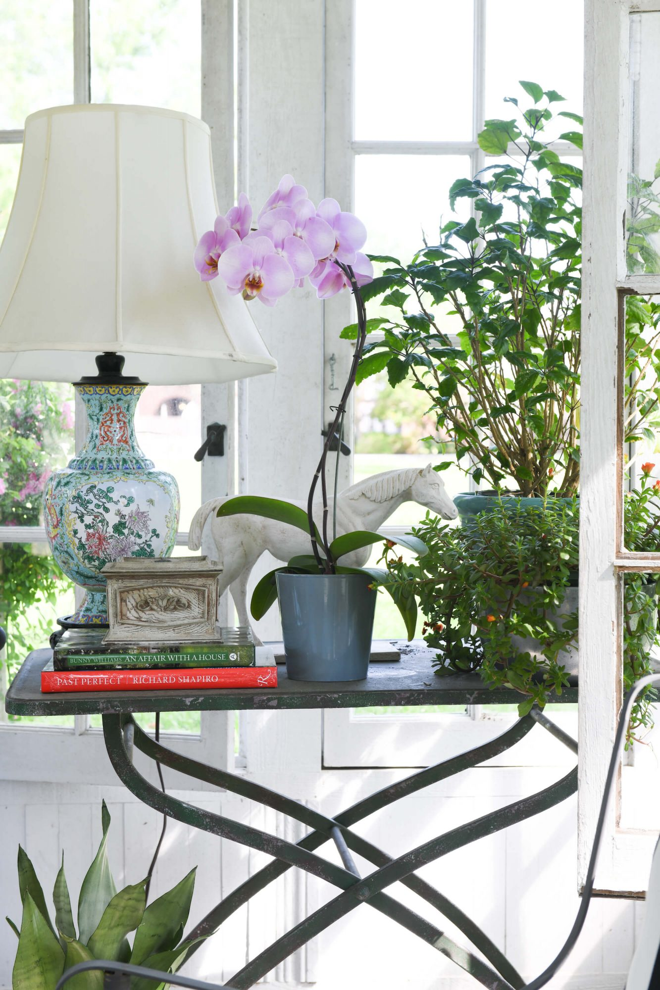 Thomas Guy Interiors garden shed and carriage house