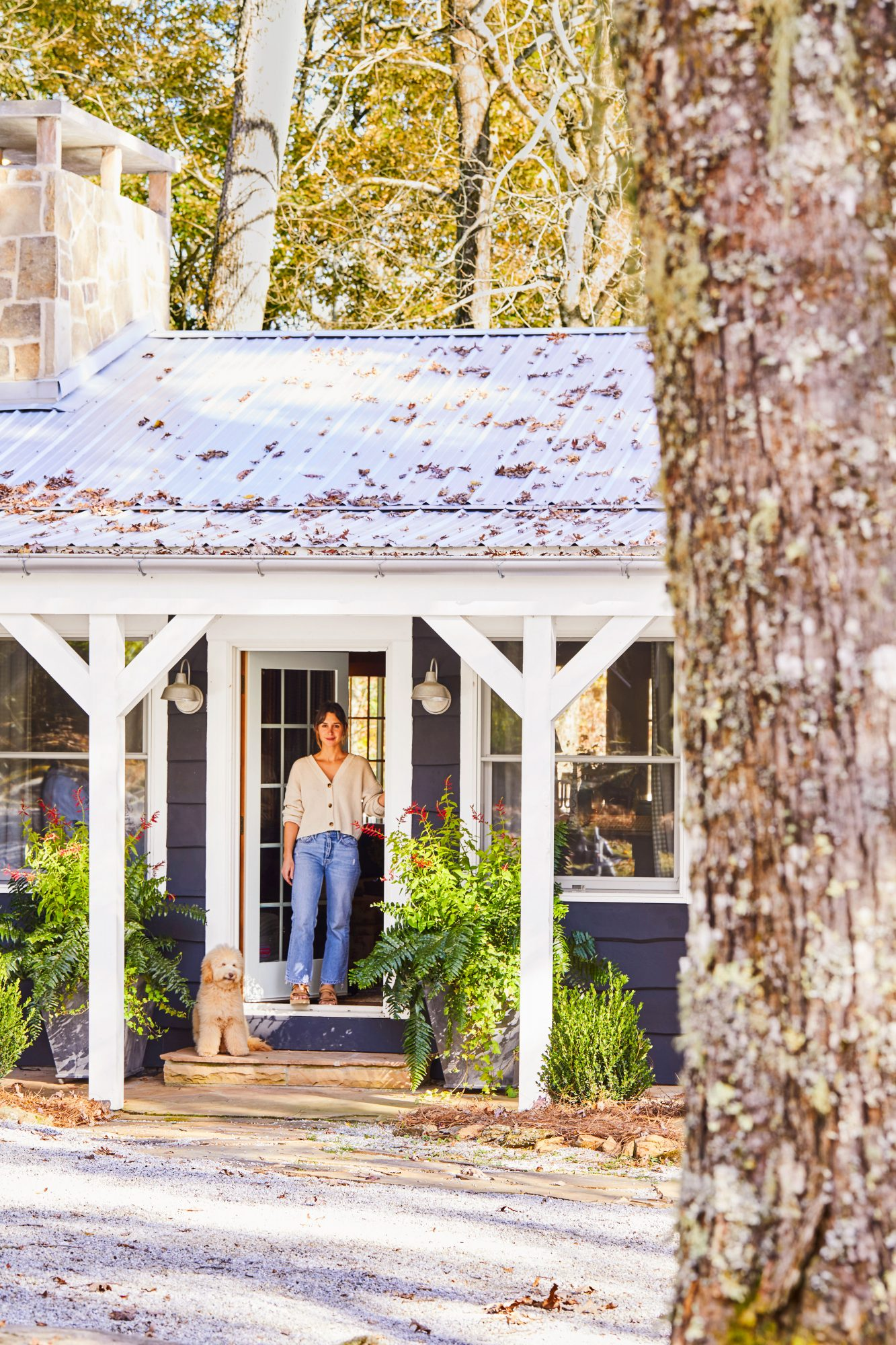 Whitney McGregor at Halstead House Mountain Cottage