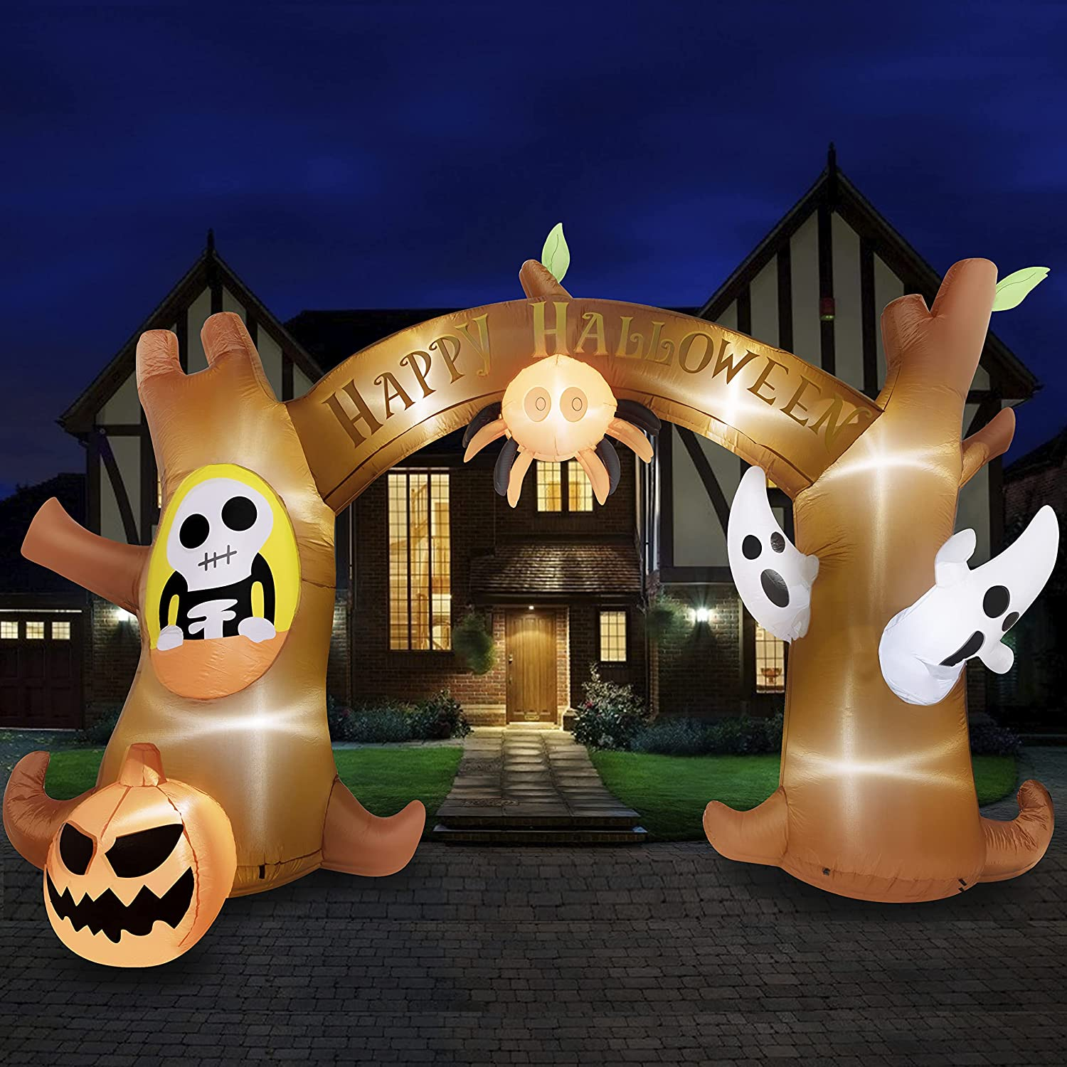 halloween inflatable archway