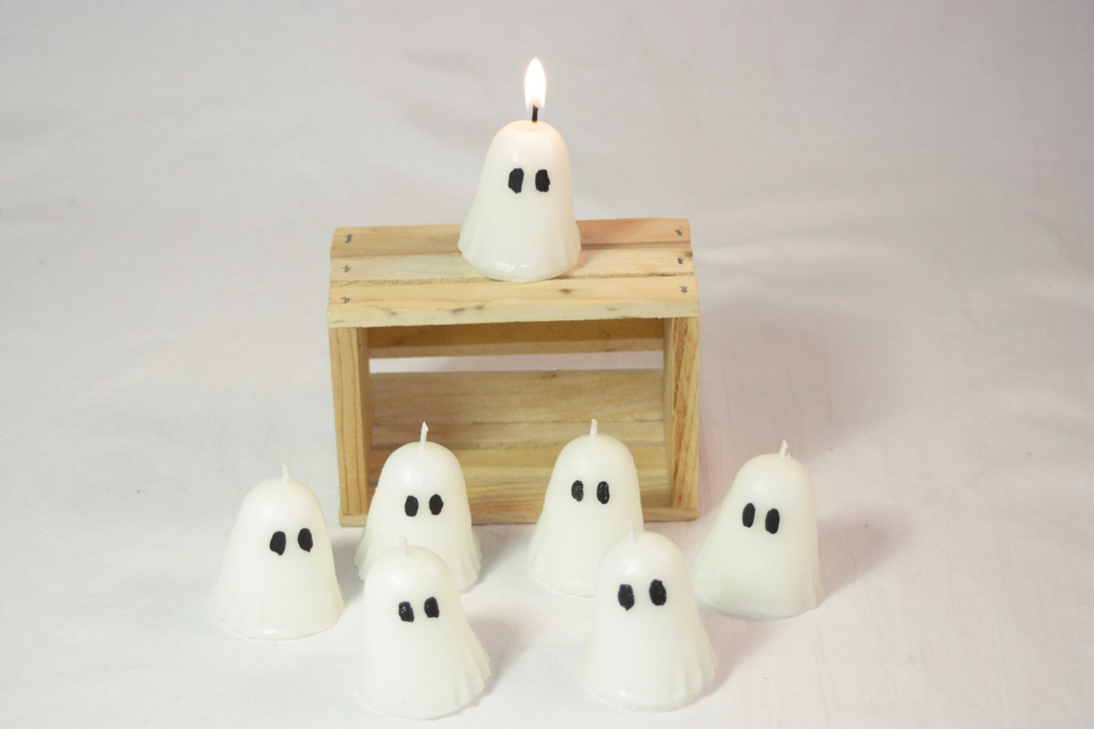 votive ghost candles
