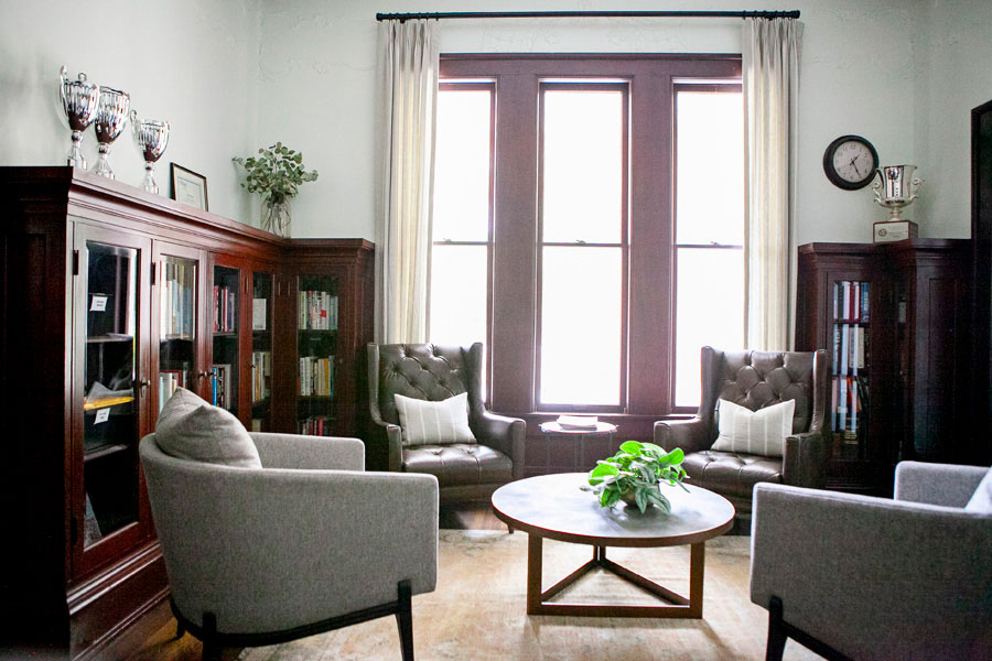 Sitting Area with Historic Details