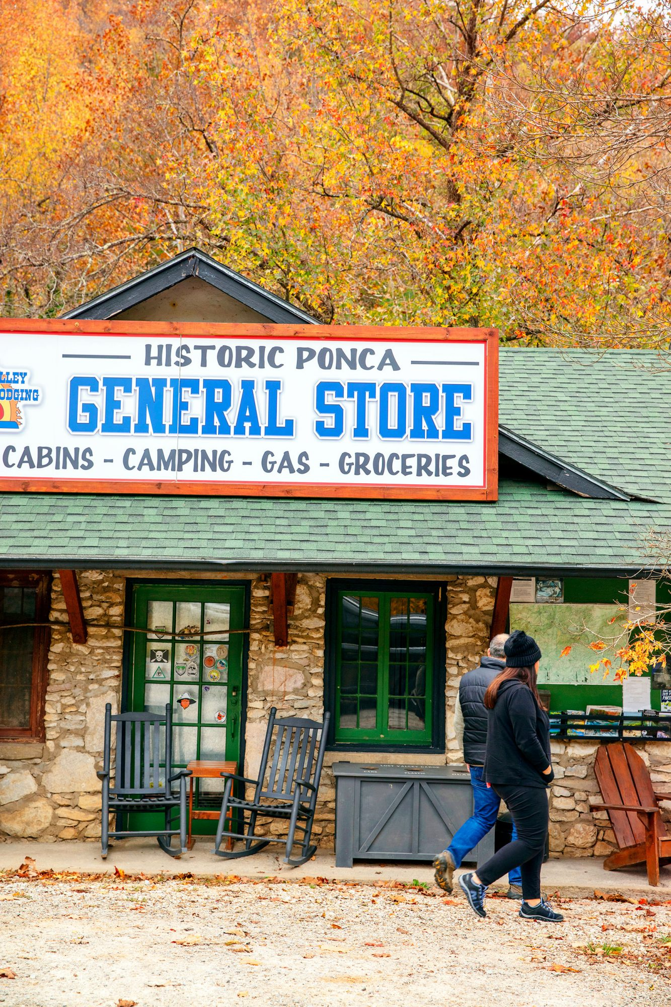Historic General Store off the Buffalo National River in the Ozarks, Arkansas