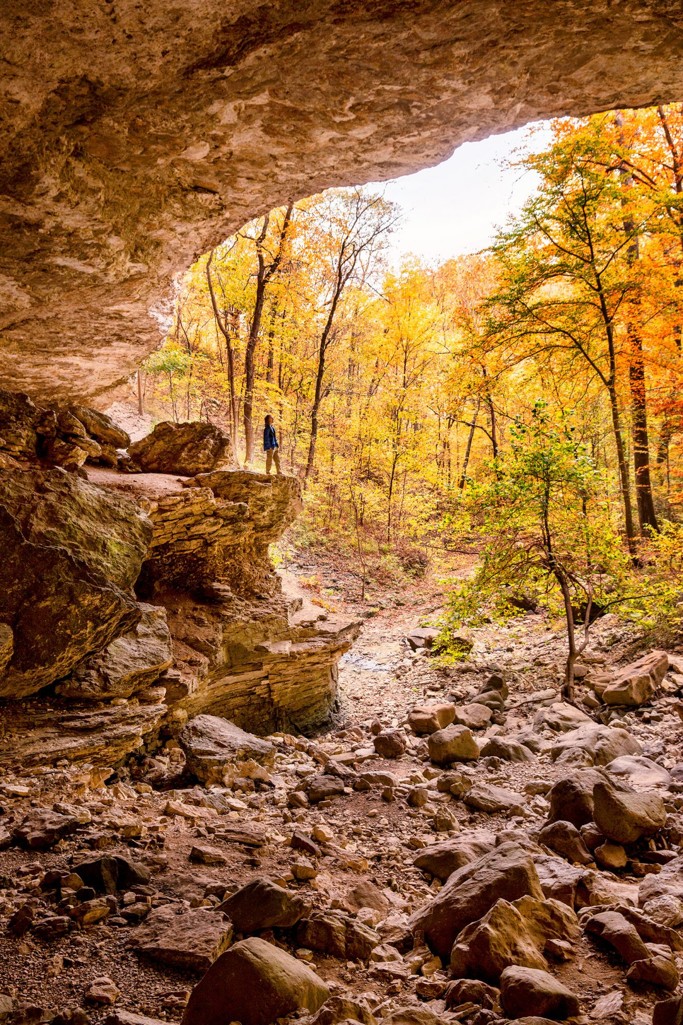 Cob Cave on Lost Valley Trail, Buffalo National River