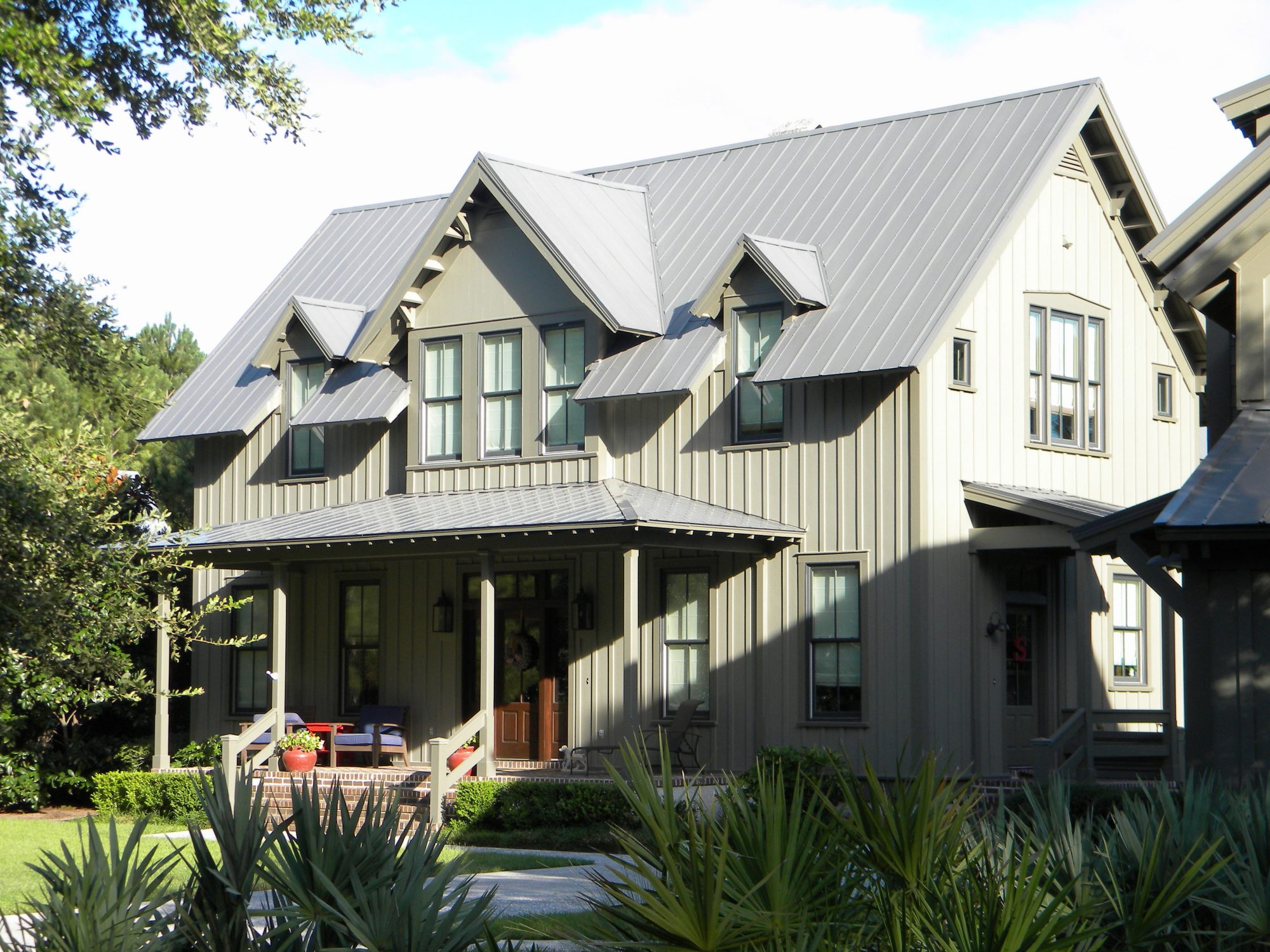Home Exterior with Clapboard