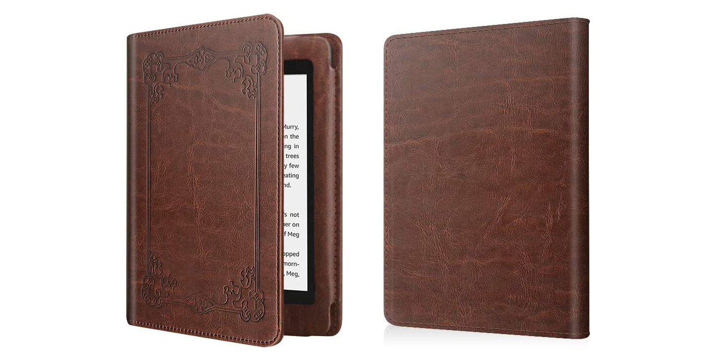 Leather-Bound E-Reader Cover
