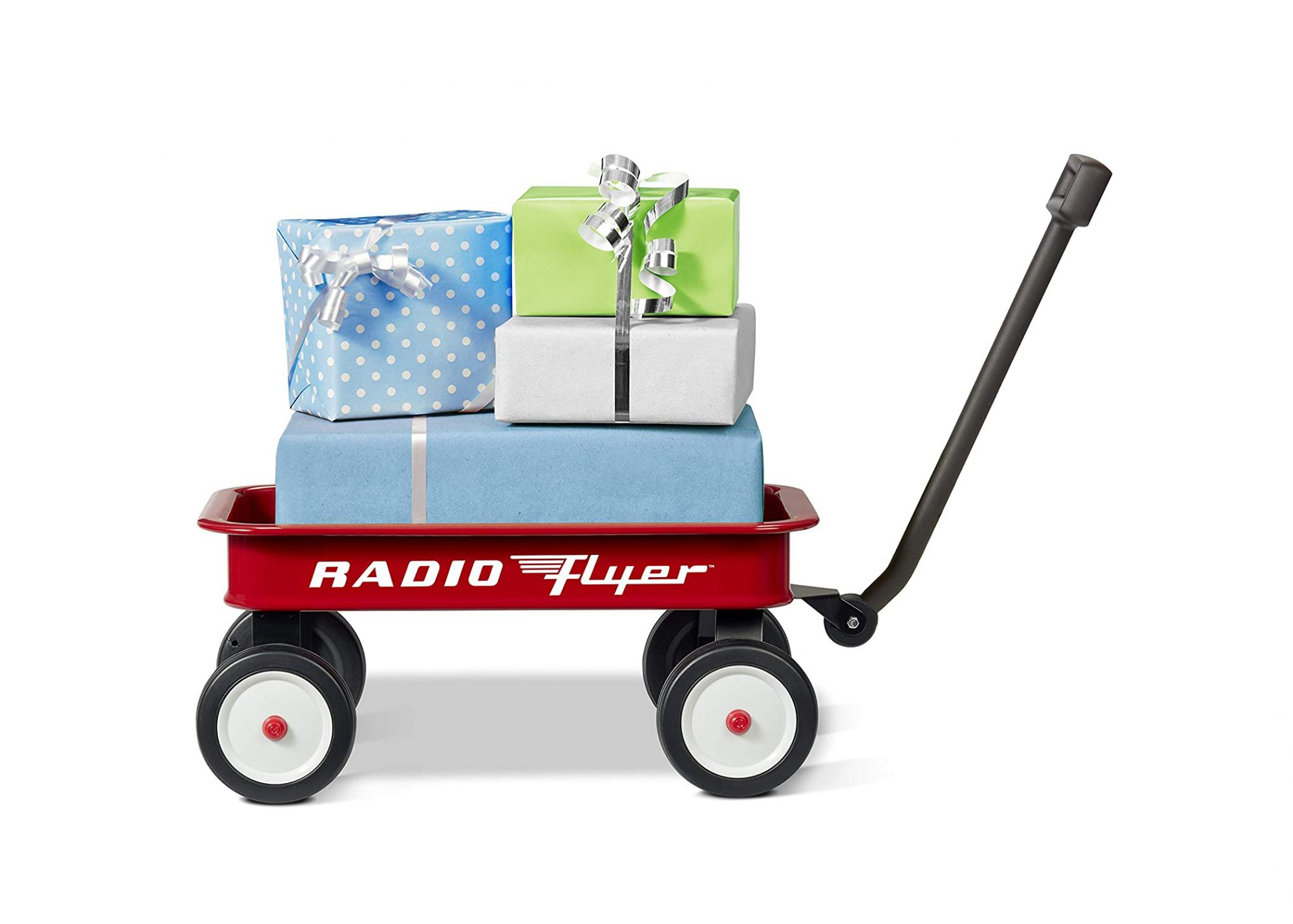 Radio Flyer with Gifts