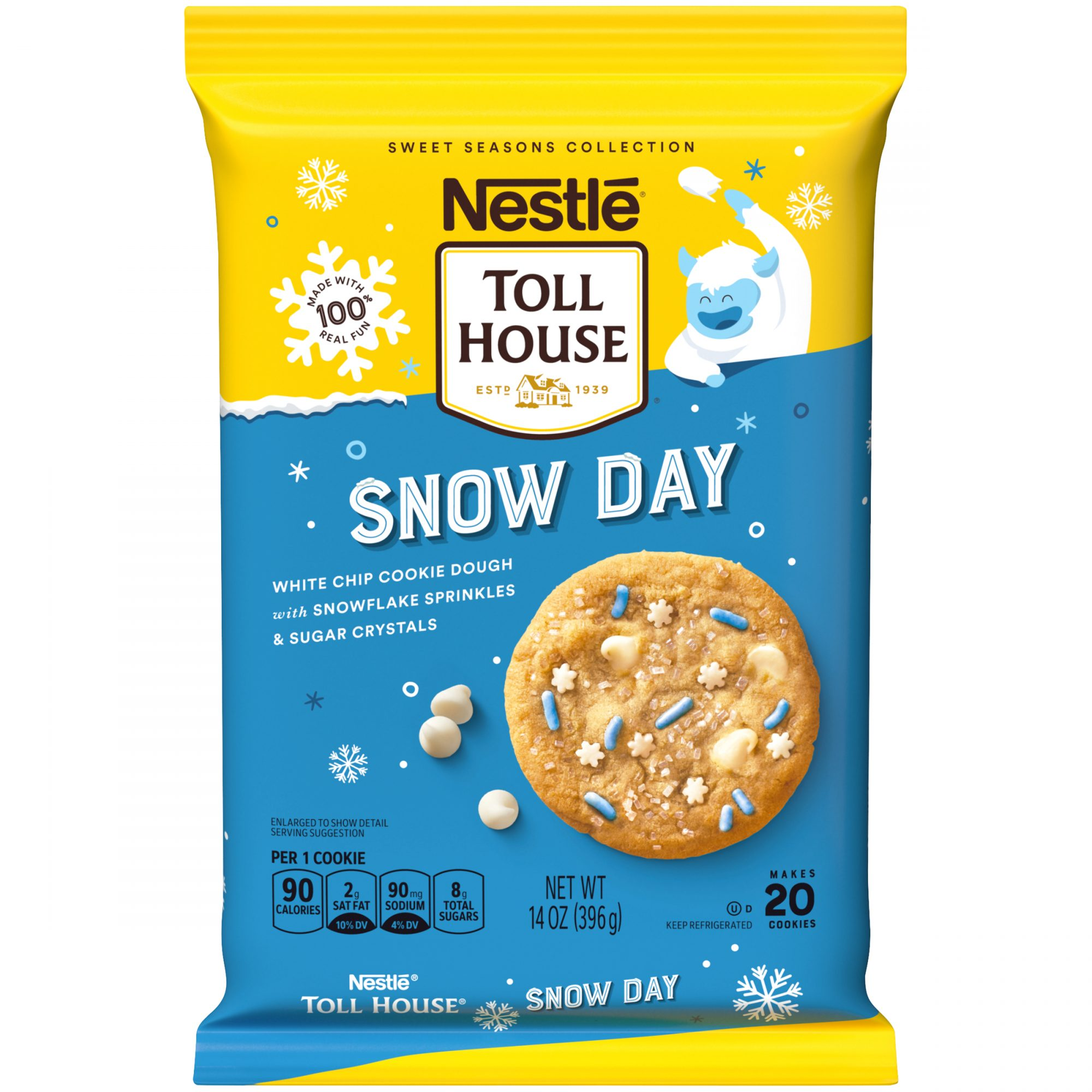 NTH Snow Day Cookie Dough Product Shot