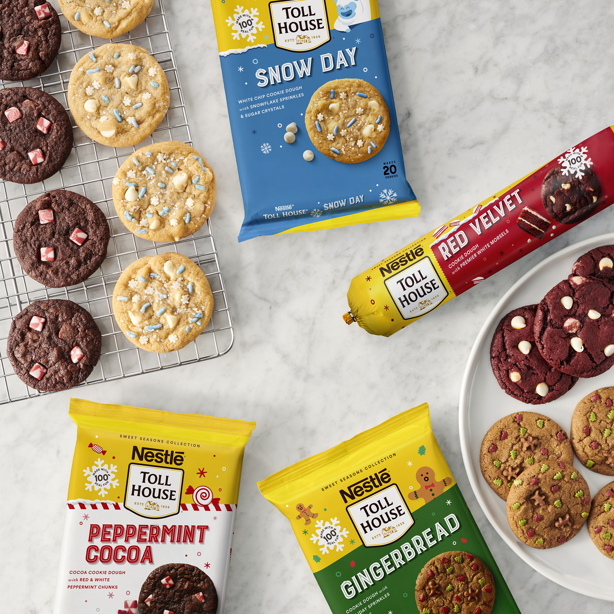Winter New Cookie Flavors