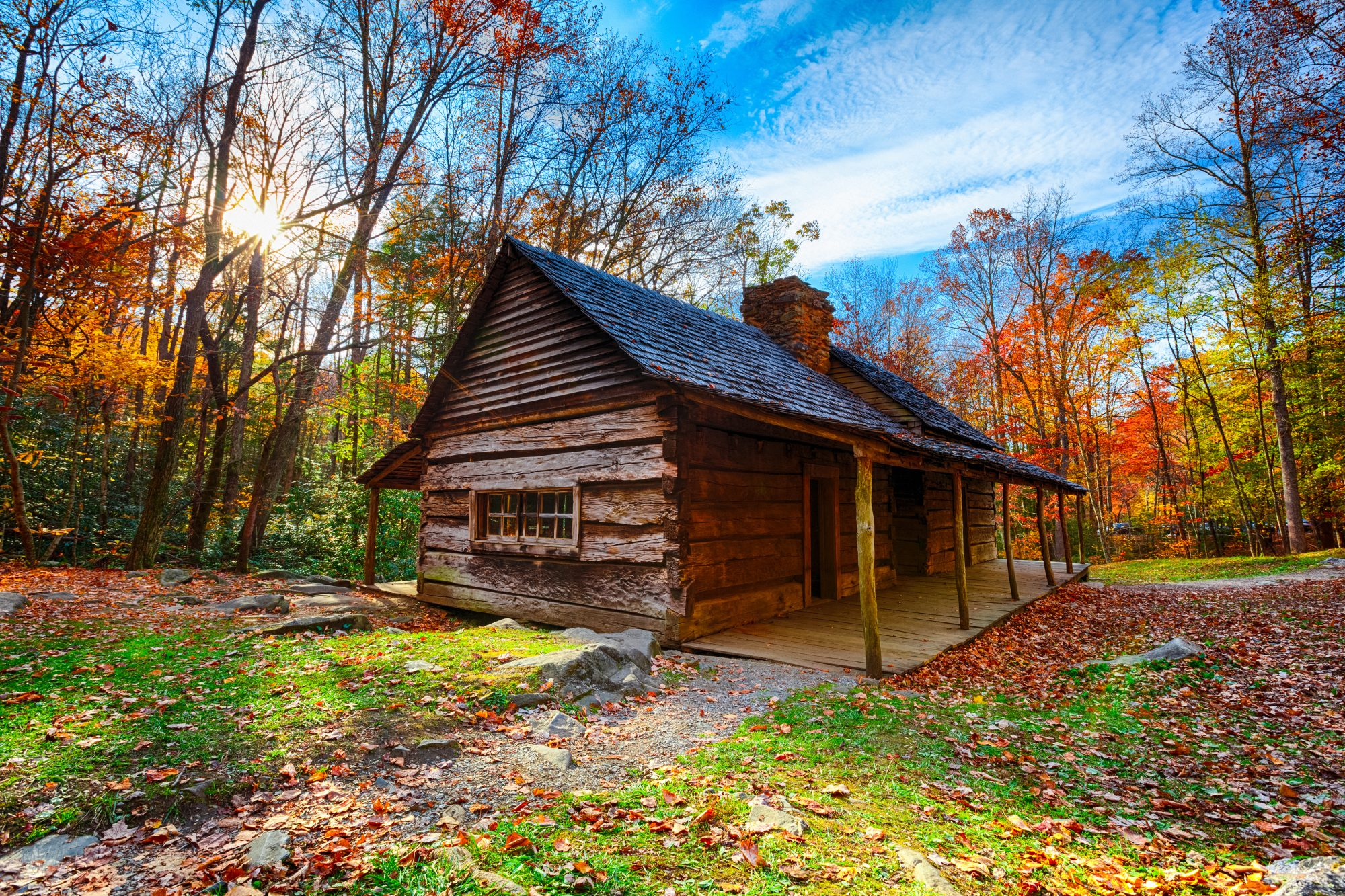 Rustic Cabin in the Great Smoky Mountains