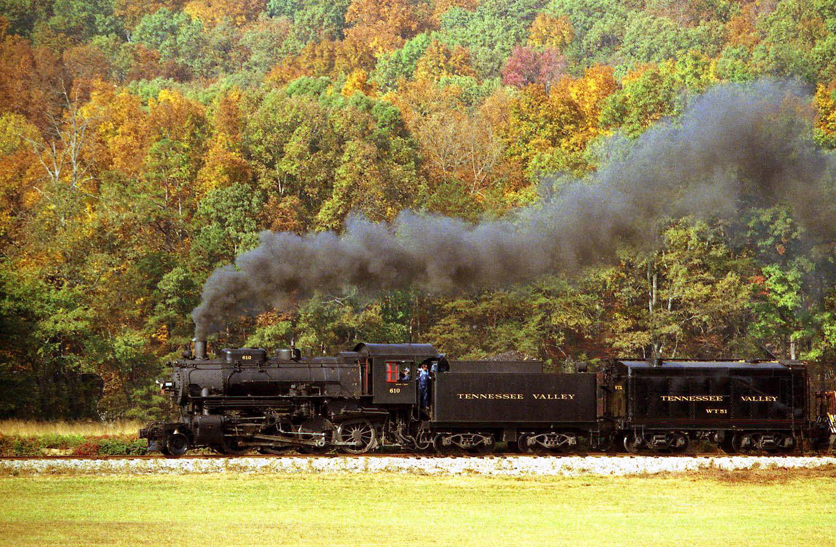Tennessee Valley railroad museum Chattanooga TN