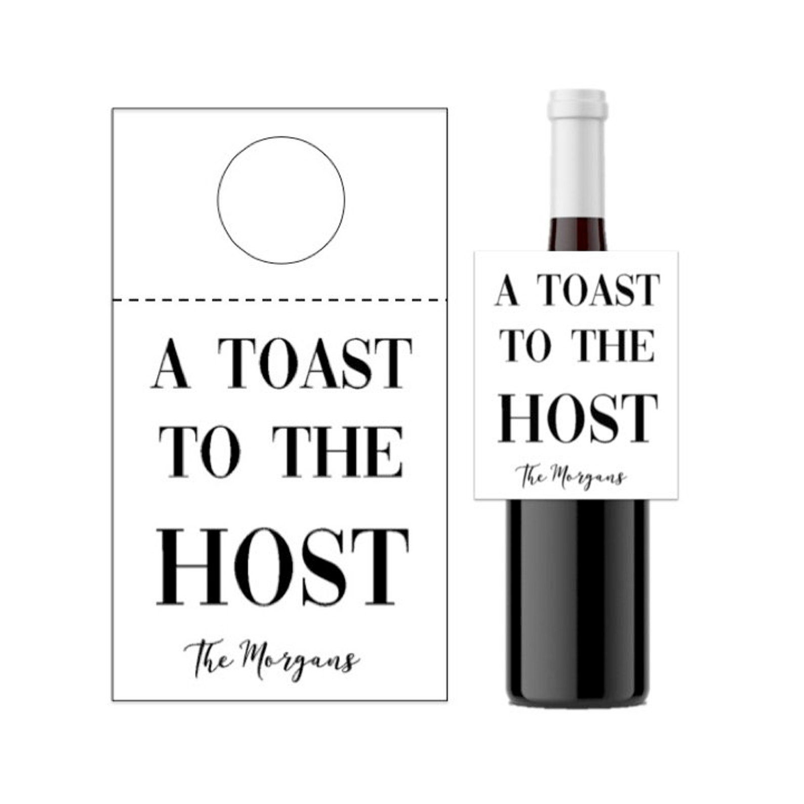 A Toast to The Host Tag